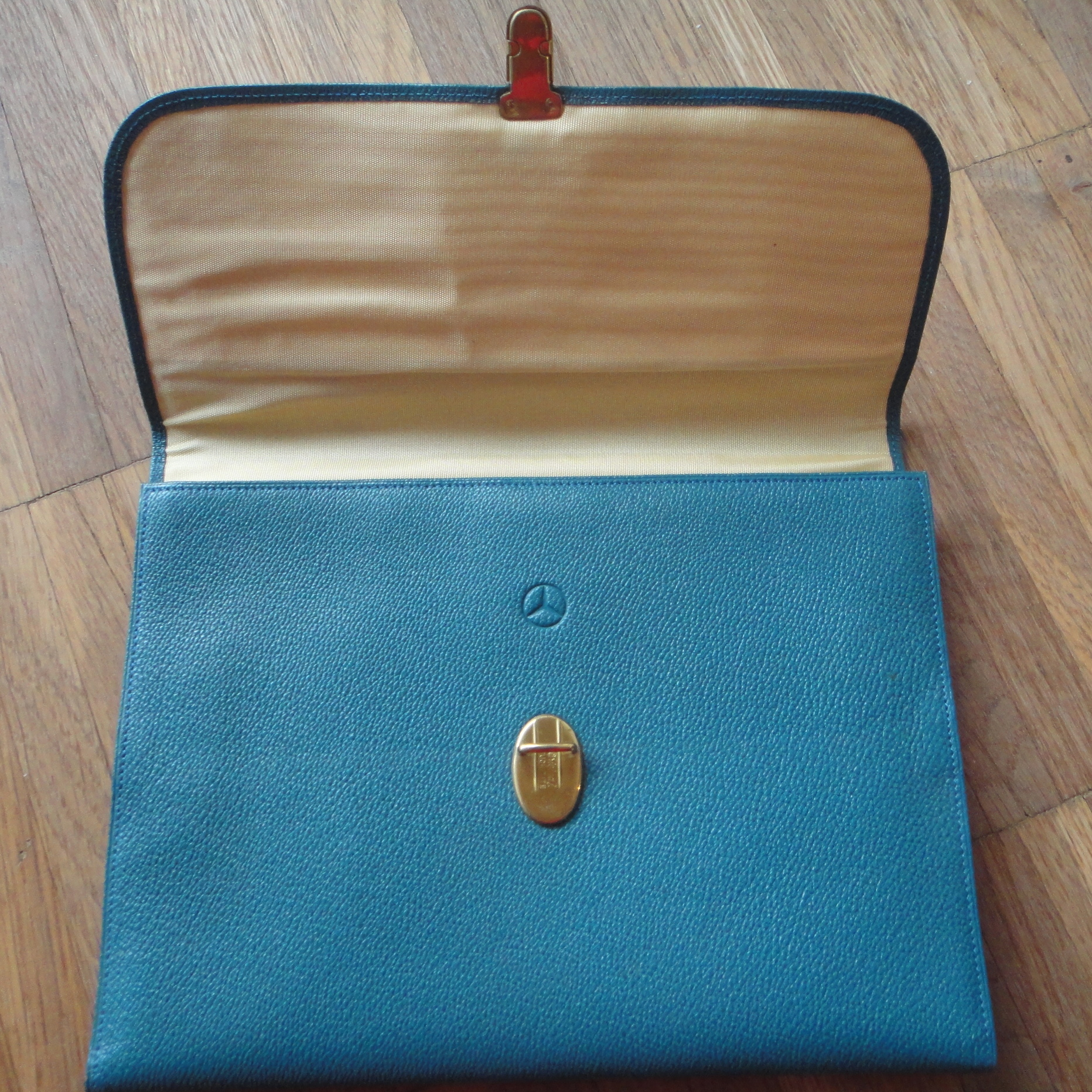 vintage Mercedes-Benz pouch for nylons
