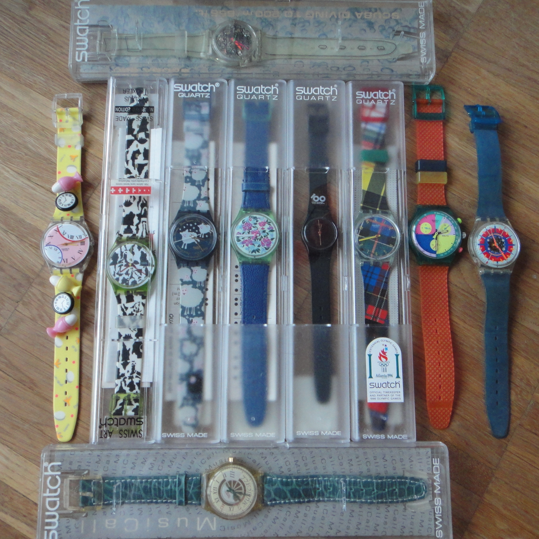 some long lost swatch watches