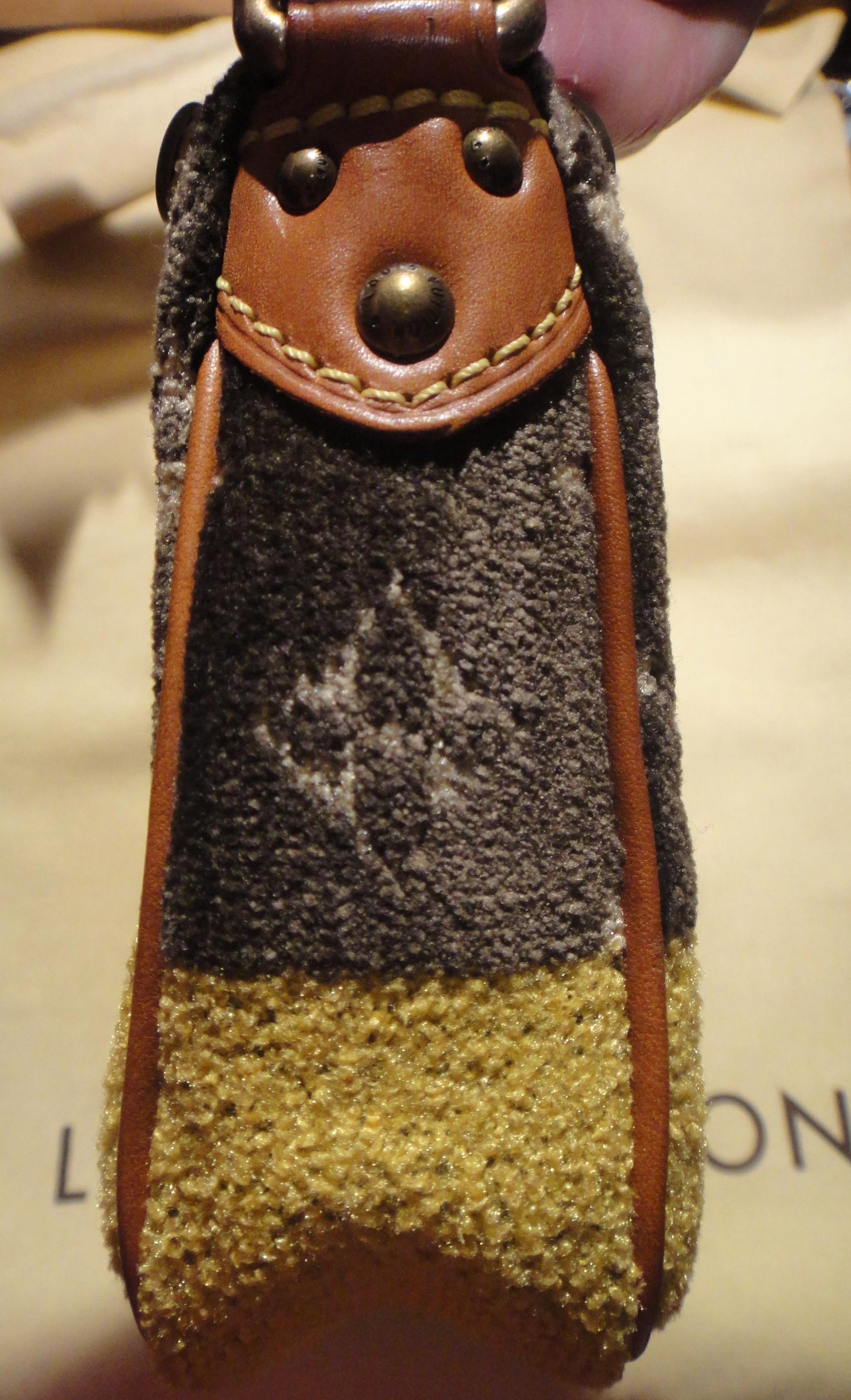 Louis Vuitton Trompe l'Oeil side of bag