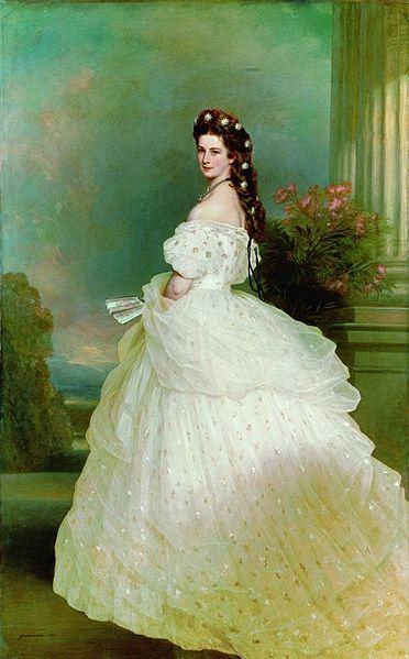 (c) Wikipedia, Empress Elisabeth by Franz-Xaver Winterhalter, 1865