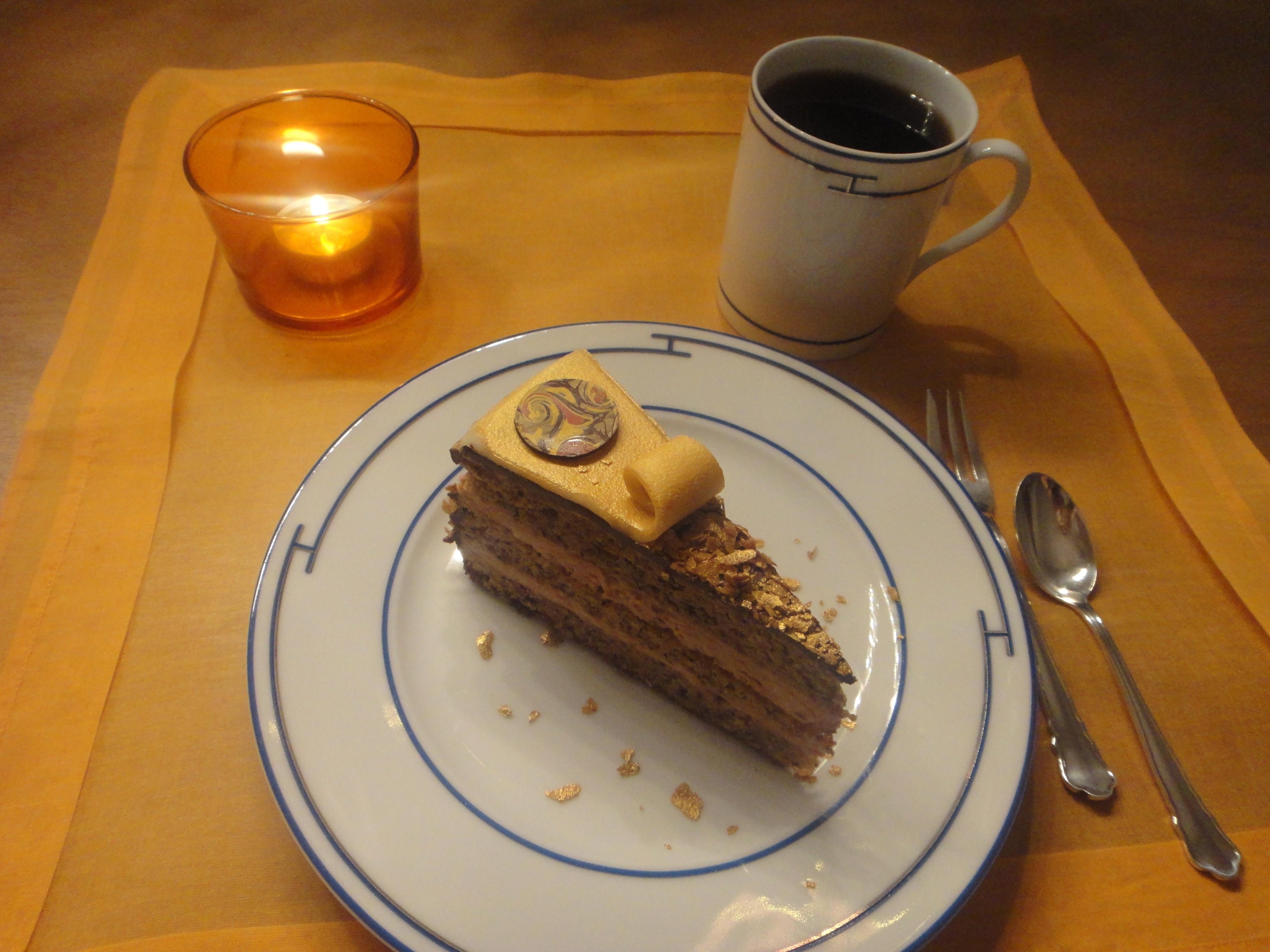 Klimt cake Gerstner Klimt Torte