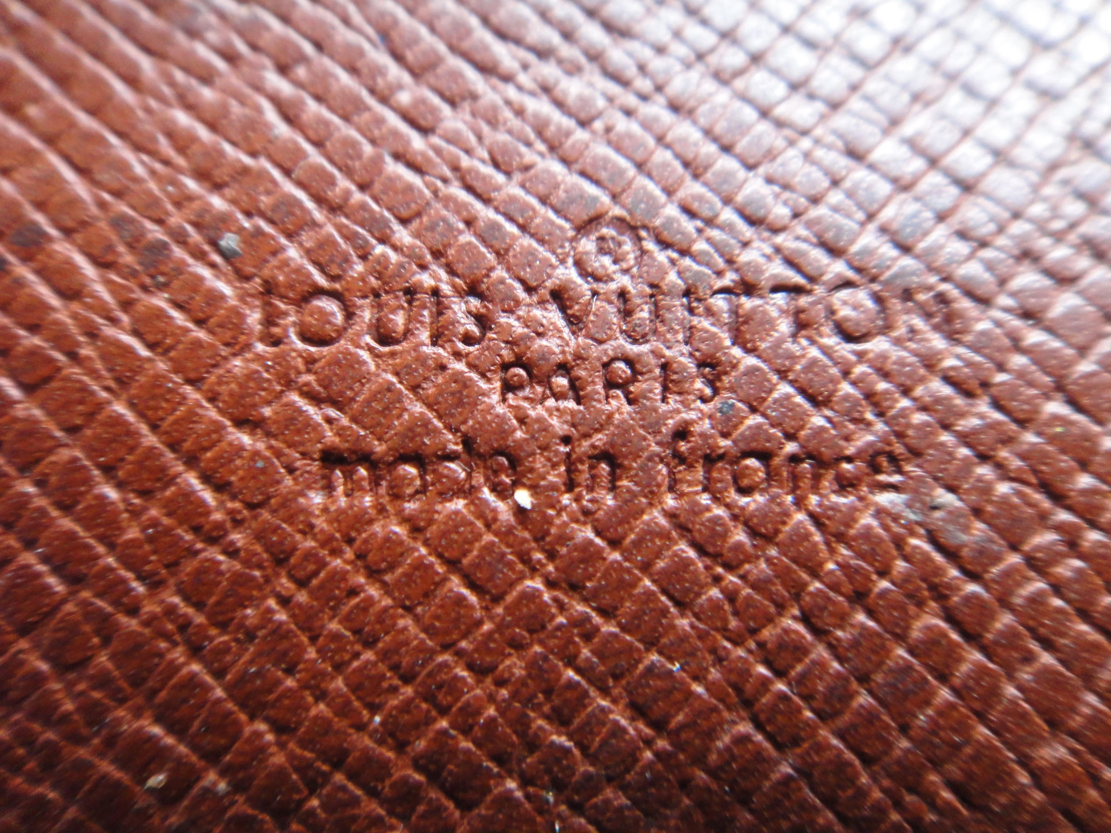 Ecritoire de Poche, old stamp