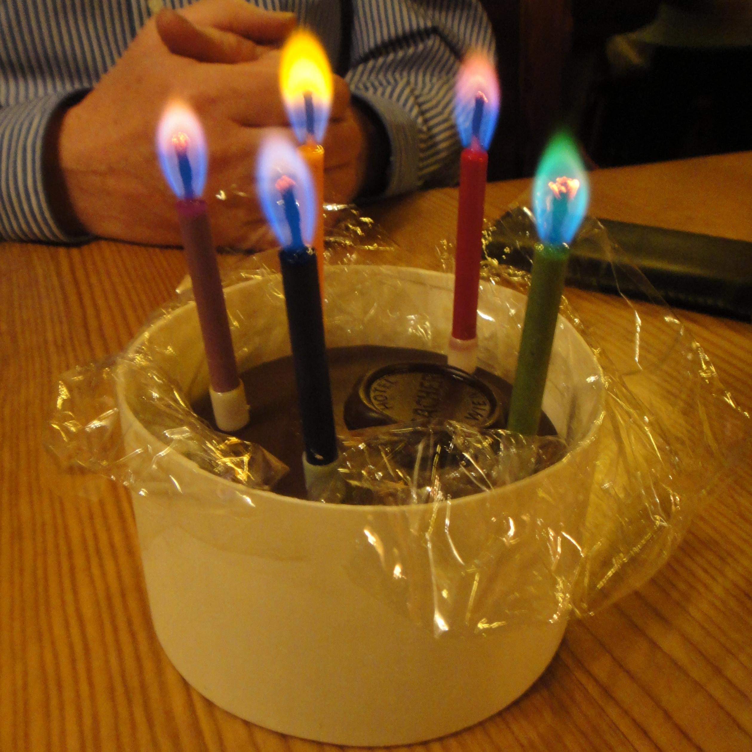 Geburtstagkuchen - Sacher Torte - birthday cake