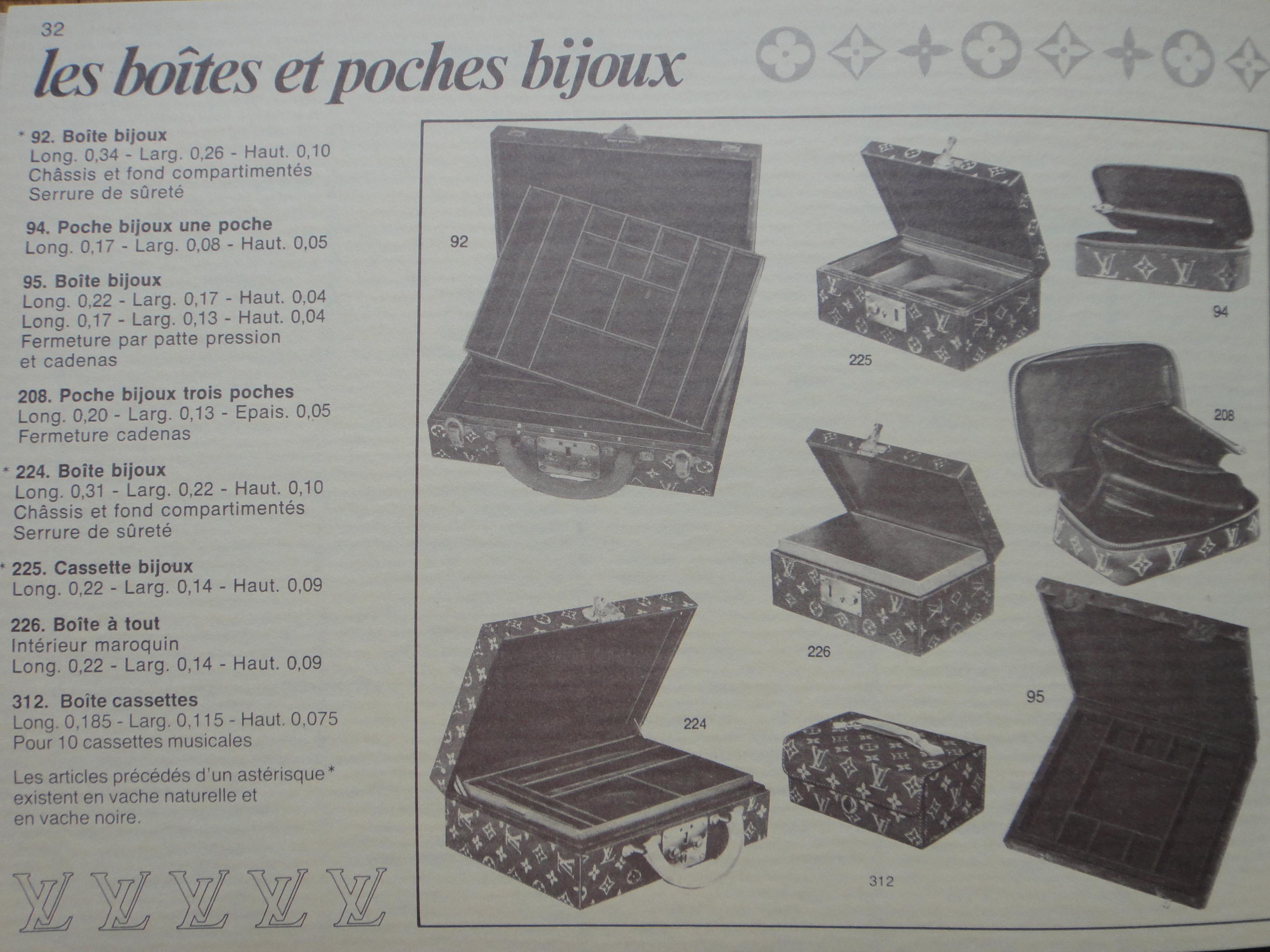 Louis Vuitton catalogue 1983