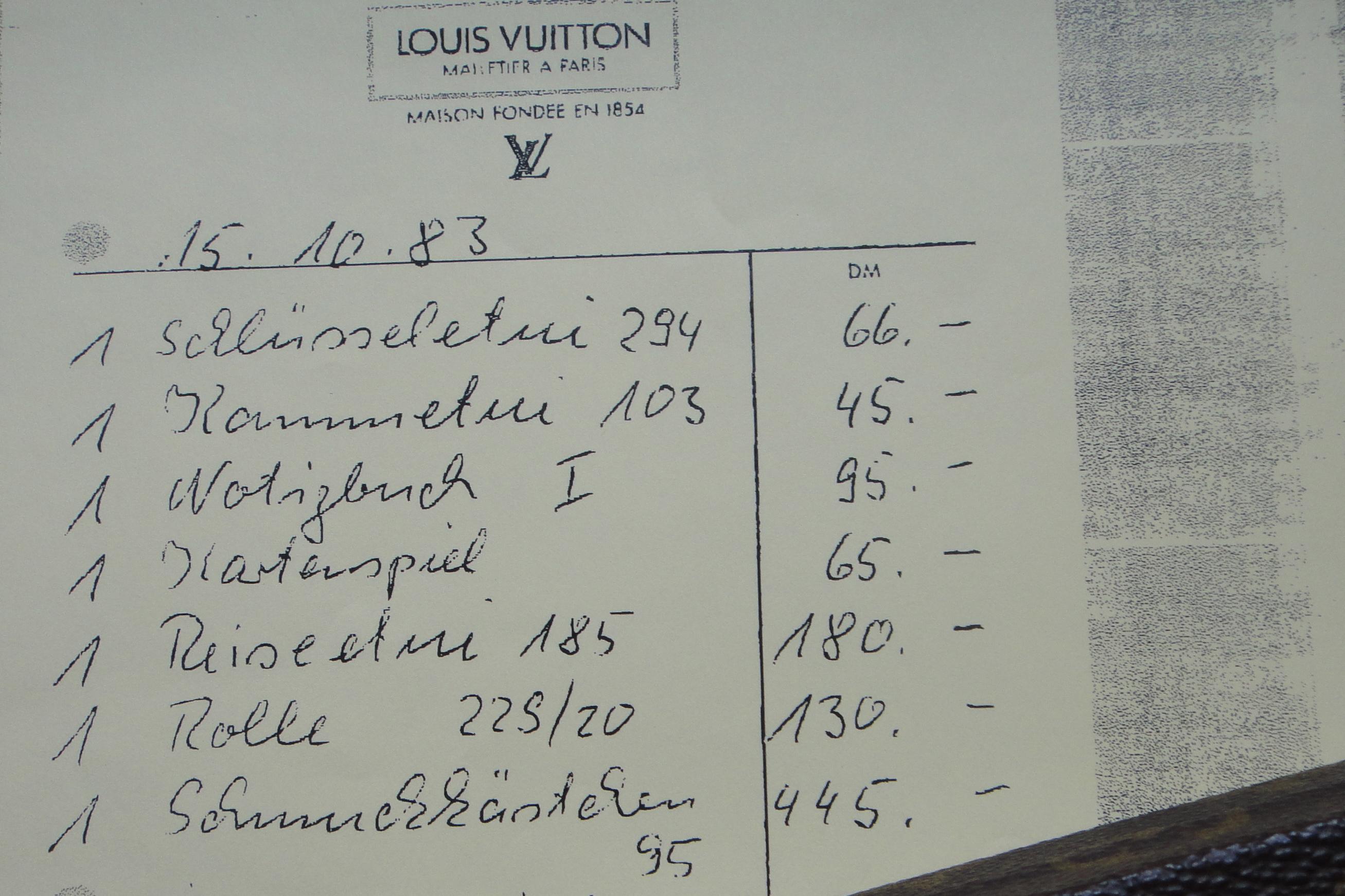 copy of invoice - Kopie der Rechnung