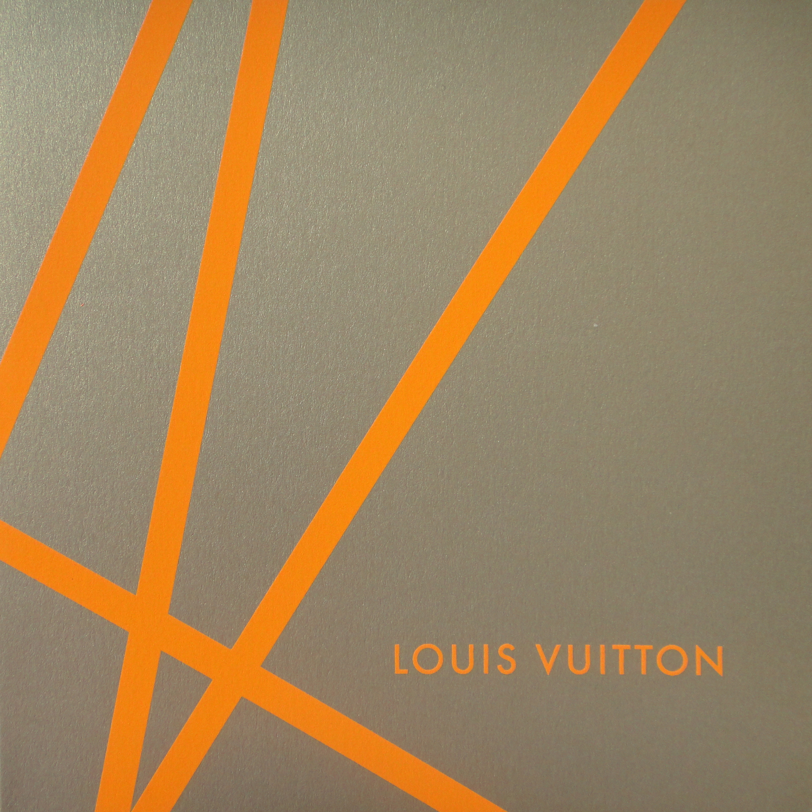 Christmas card 2002 - Louis Vuitton - Weihnachtskarte 2002