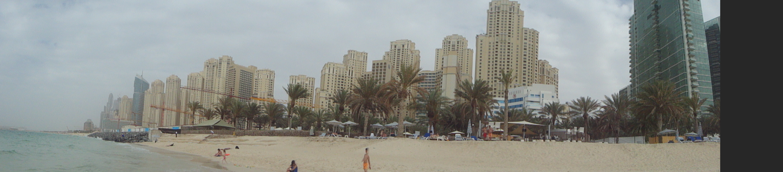 view from the Persian Gulf / Sicht vom Persischen Golf aus