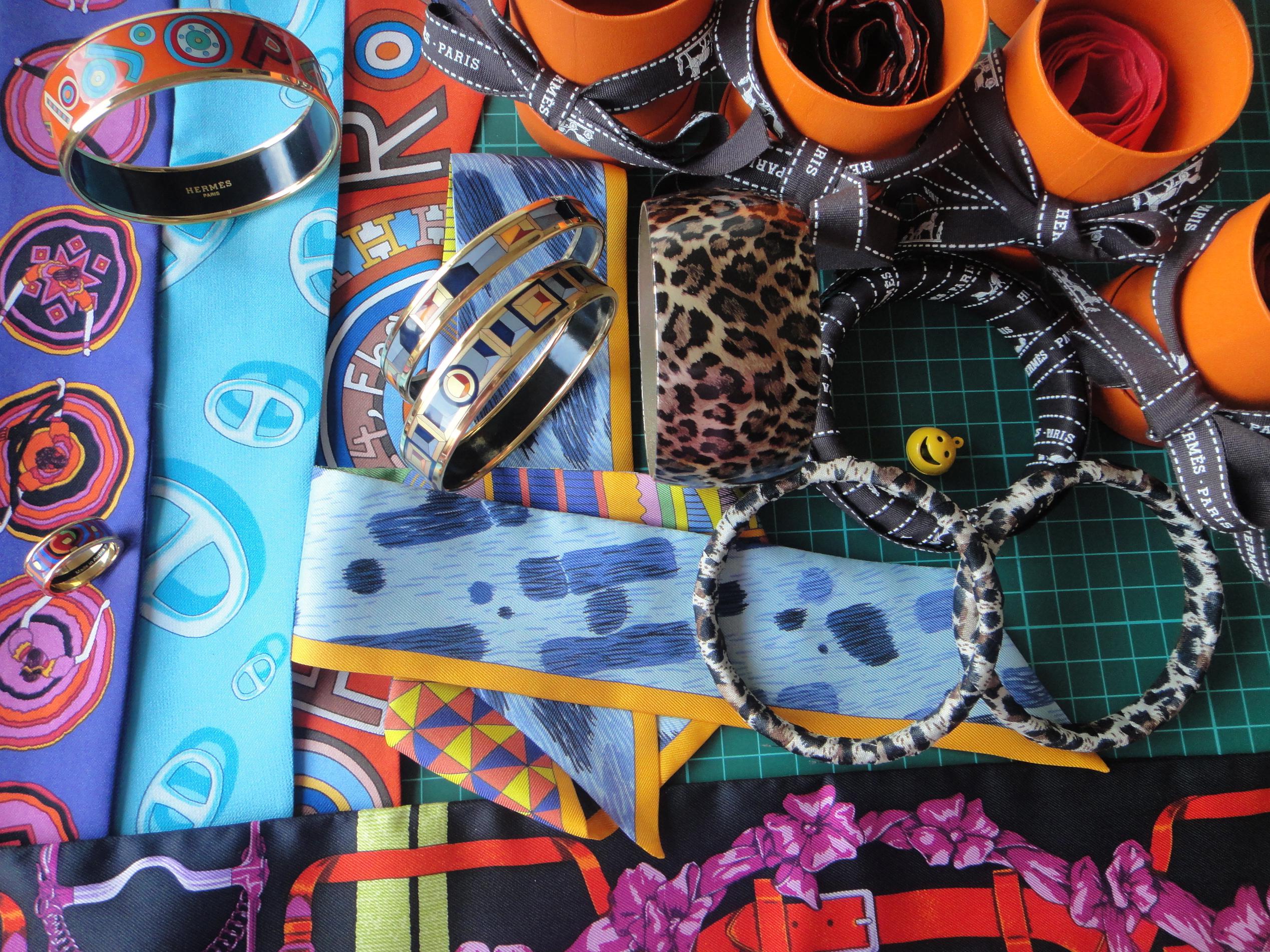 Twillies, ribbons and bangles / Twillys, Schleifen und Armreifen - Hermès, FreyWille