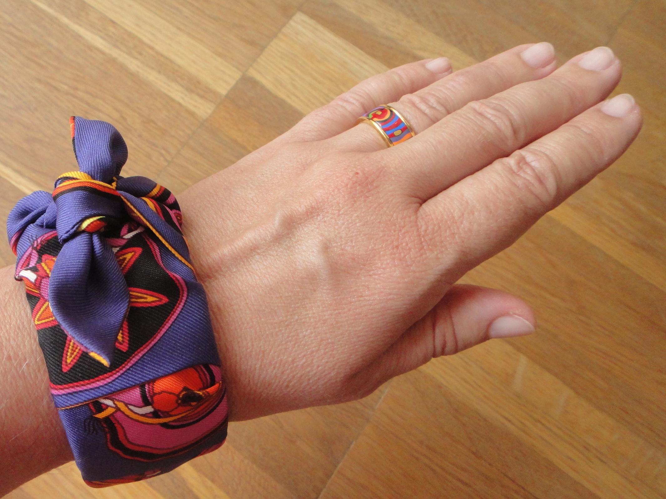 Belles du Mexique Twille & FreyWille Hundertwasser ring