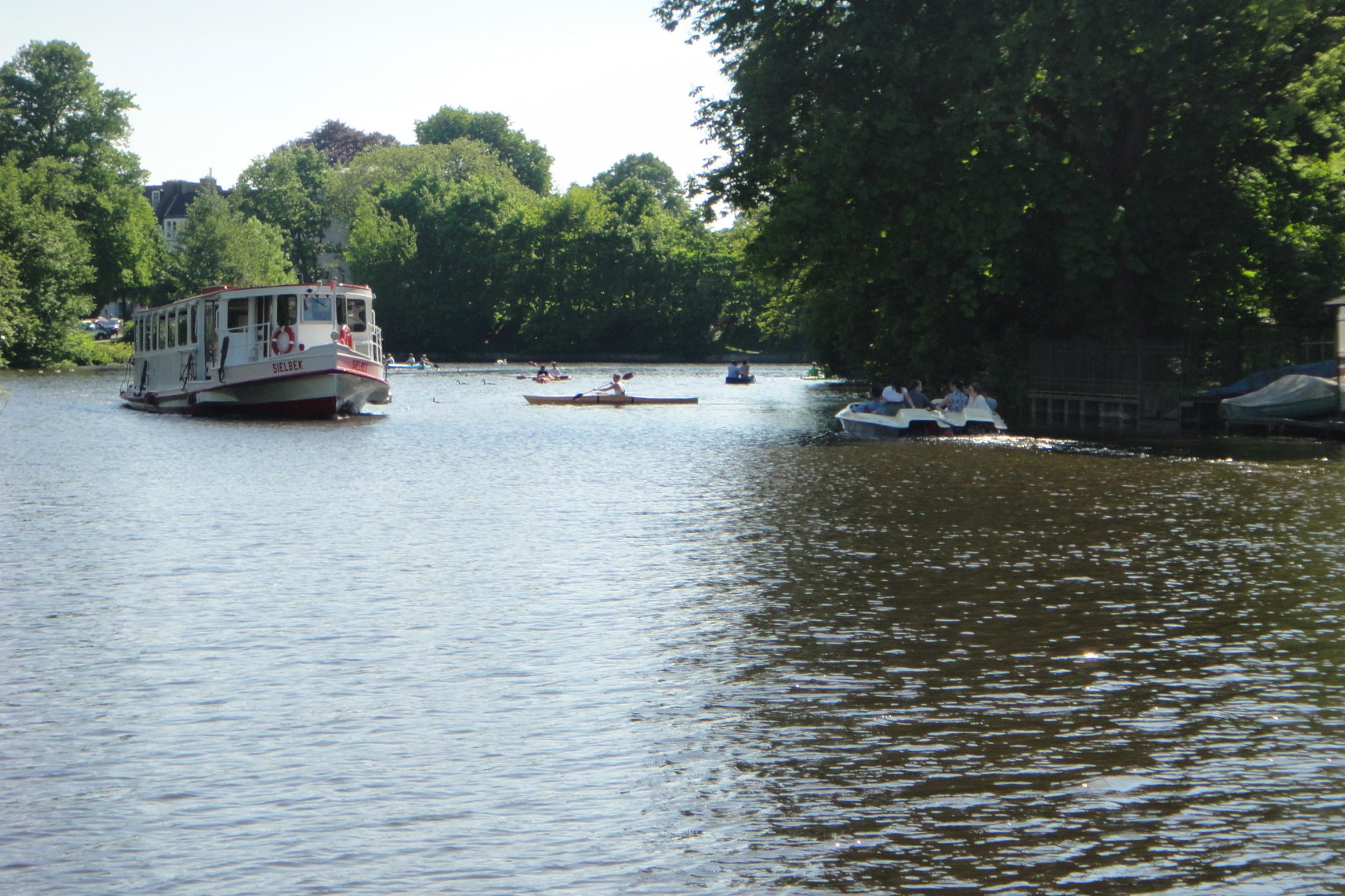 My boat... / Mein Alsterdamper...