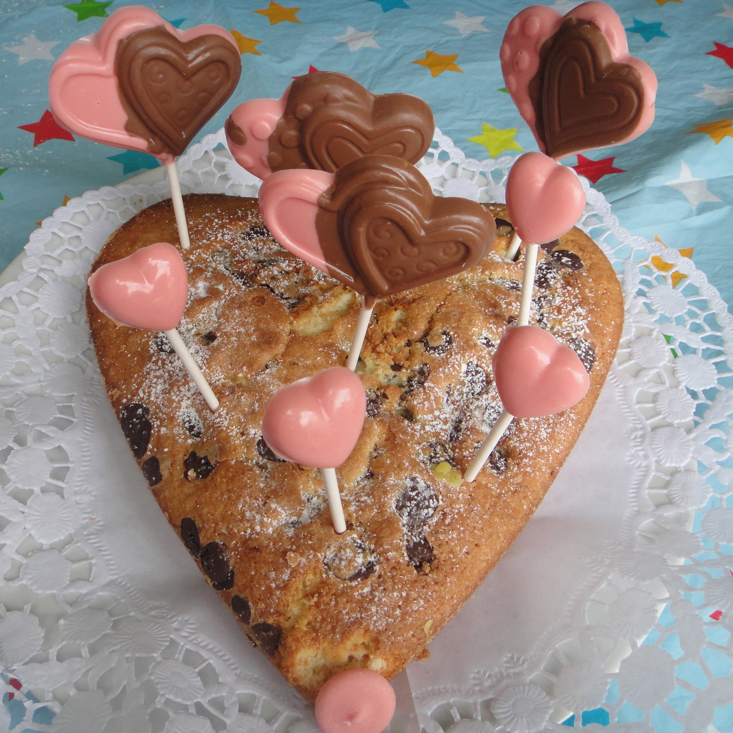 heart shaped lollipops / herzförmige Lollis