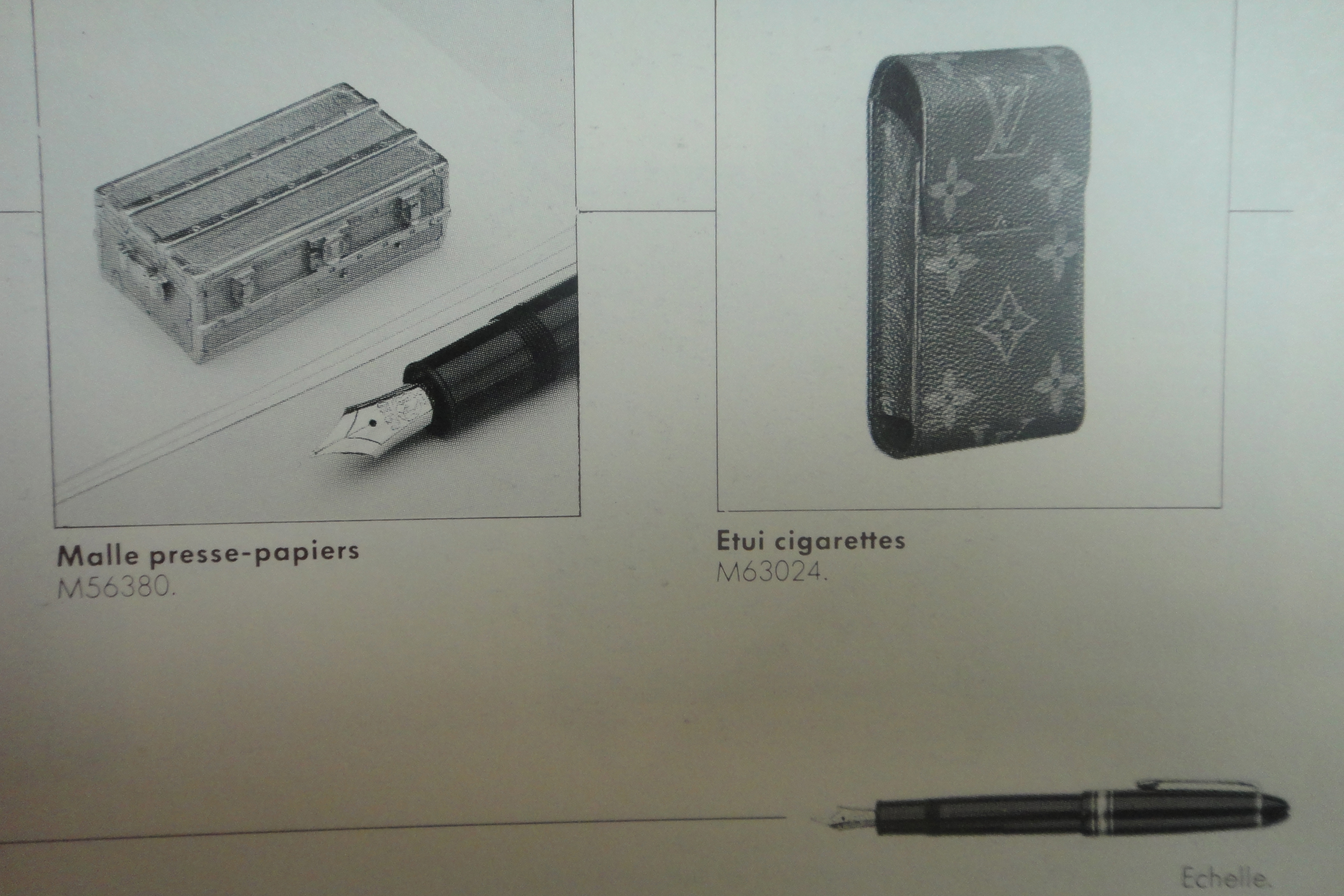 Montblanc - Le Catalogue Louis Vuitton 1987