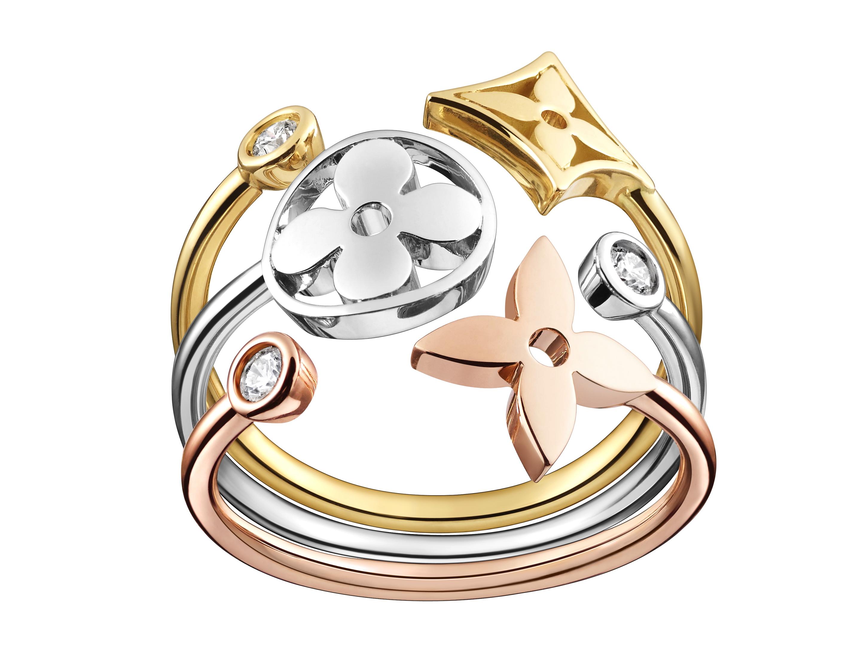 Monogram Idylle ring