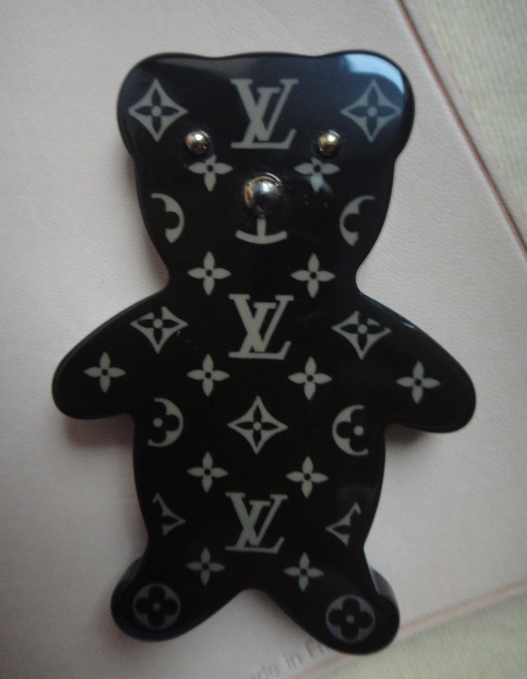 Louis Vuitton Monogram pin