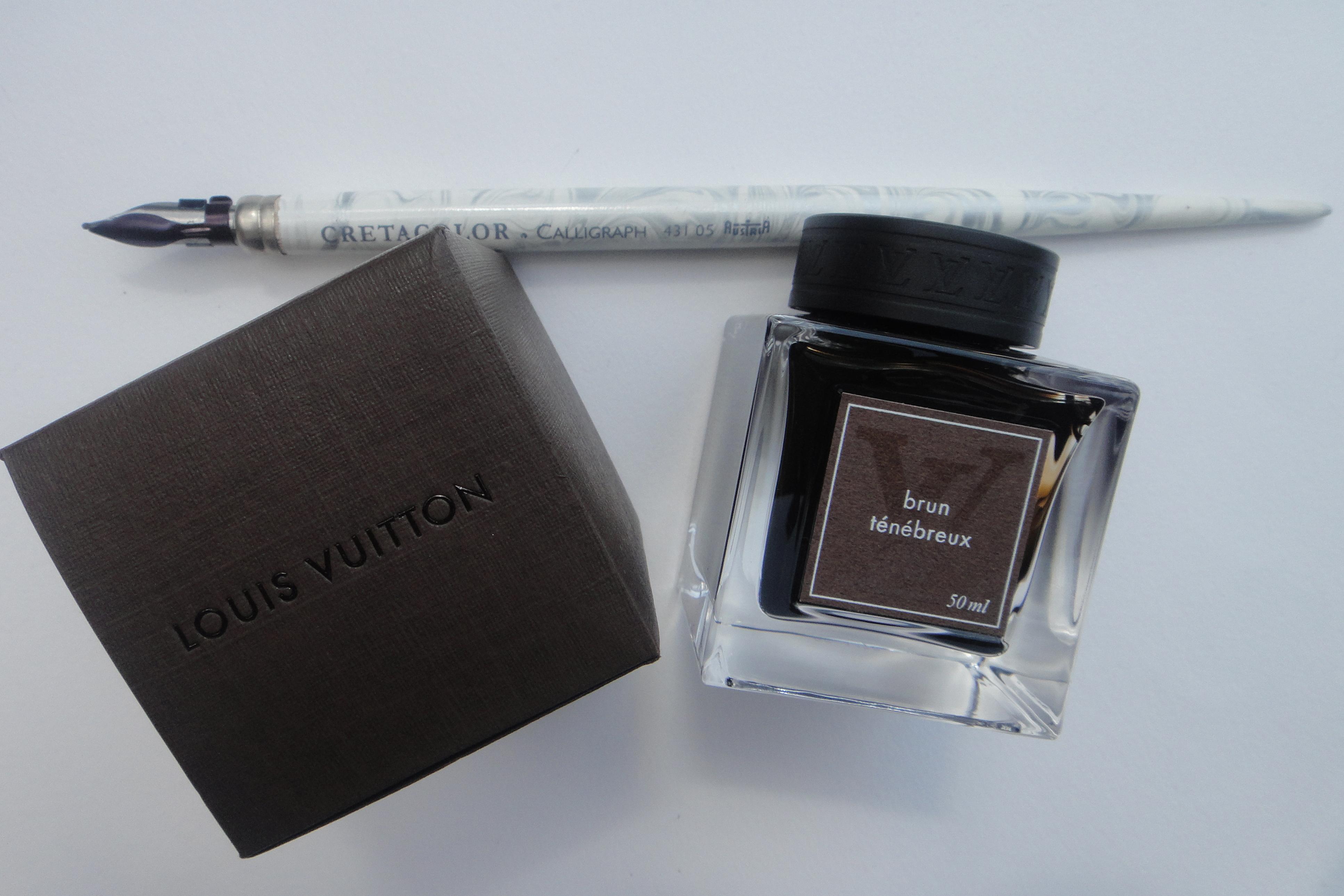 Louis Vuitton ink Tinte - Cretacolor pen Feder