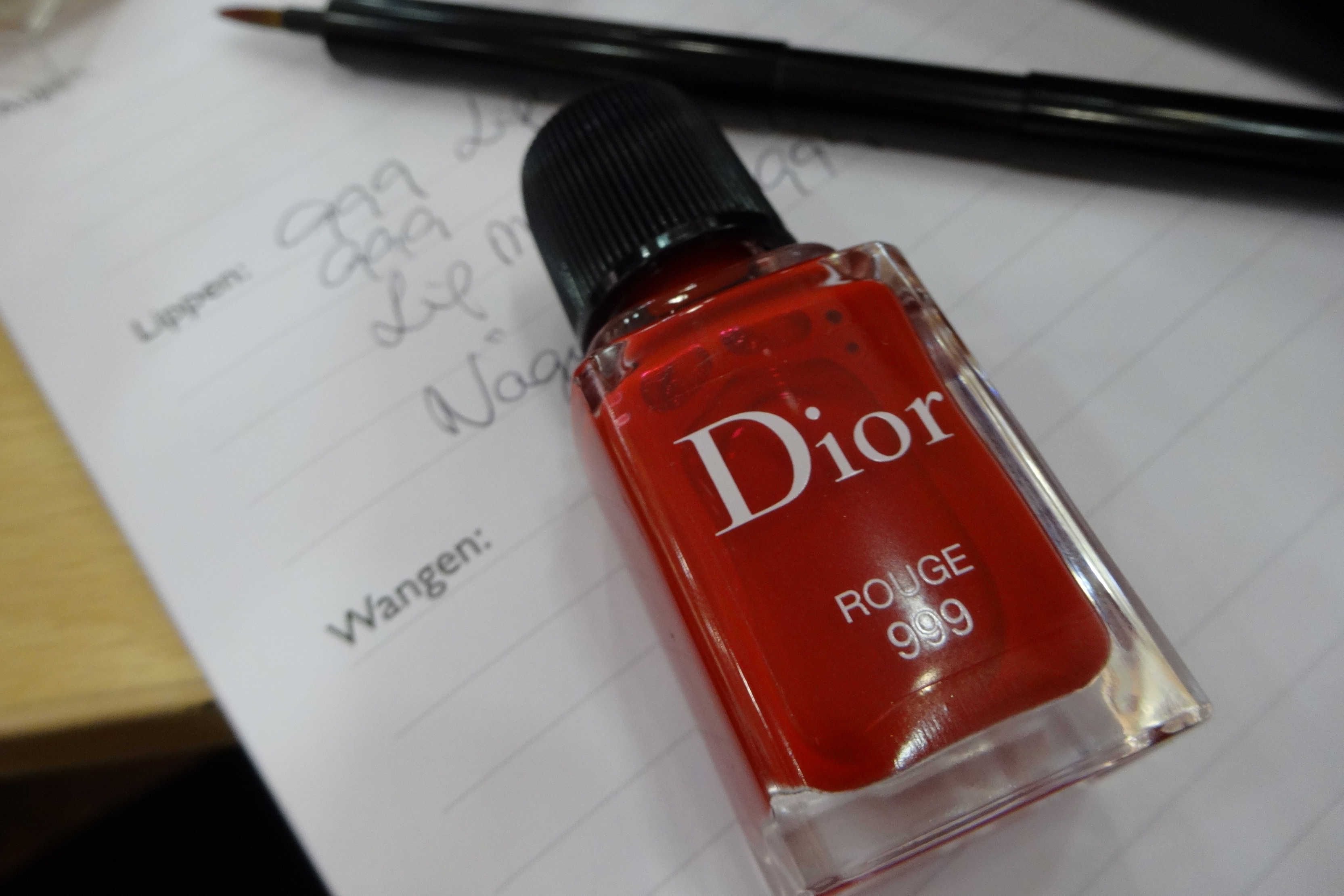 Christian Dior Rouge 999 - Happyface313