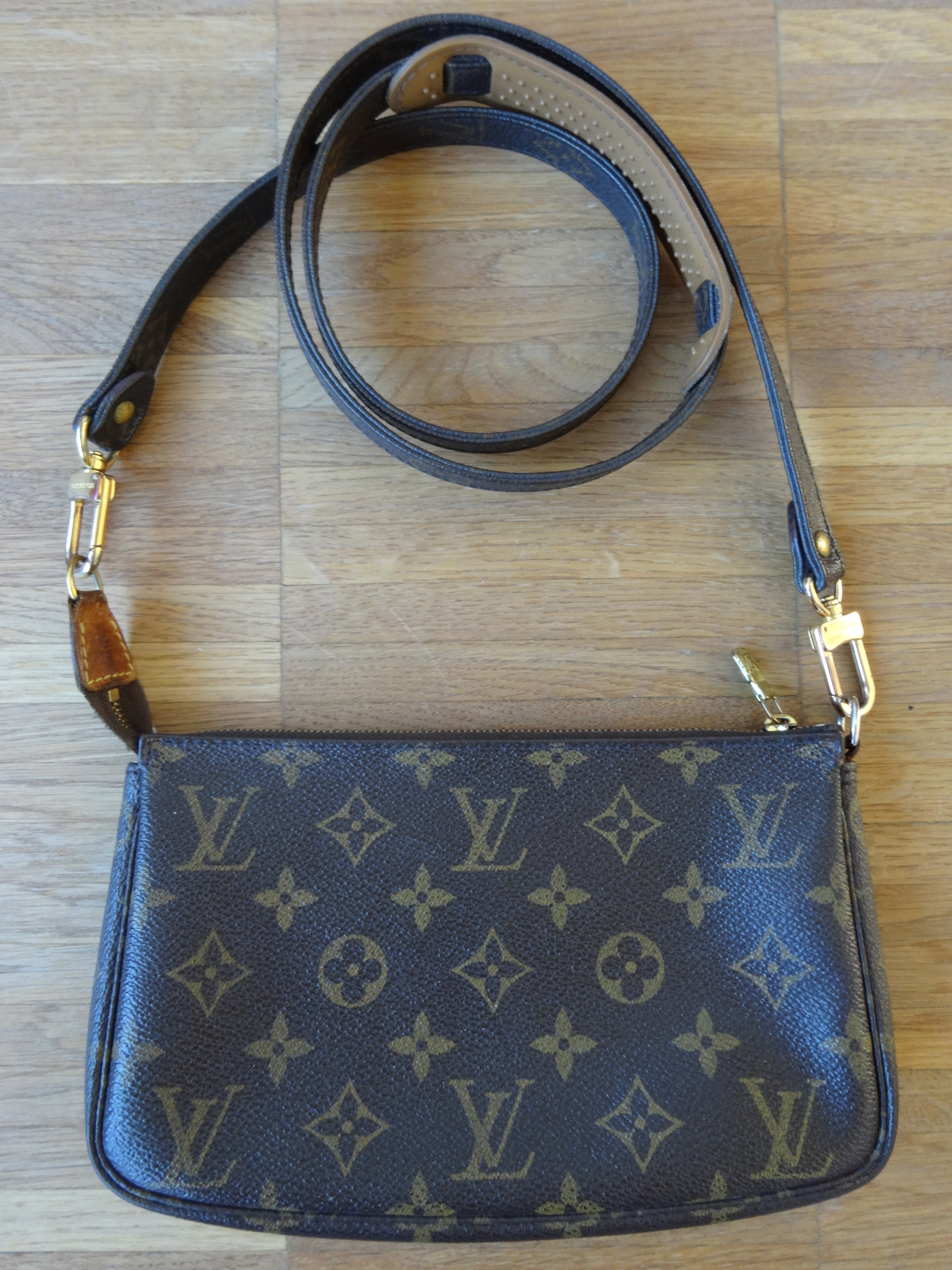 Pochette Accessoires with long Monogram shoulder strap