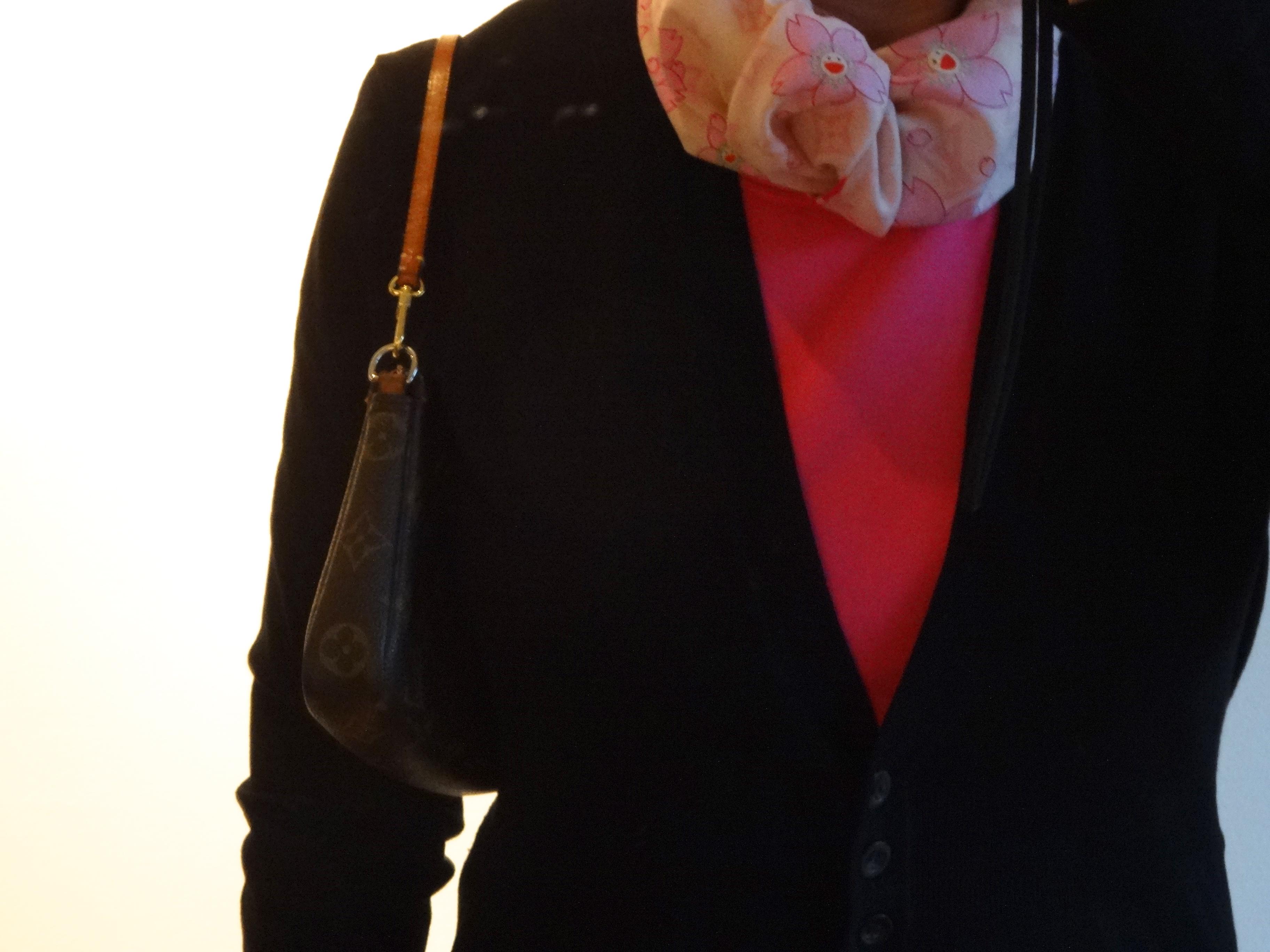 Pochette Accessoires - on regular strap / regulärer Schulterriemen