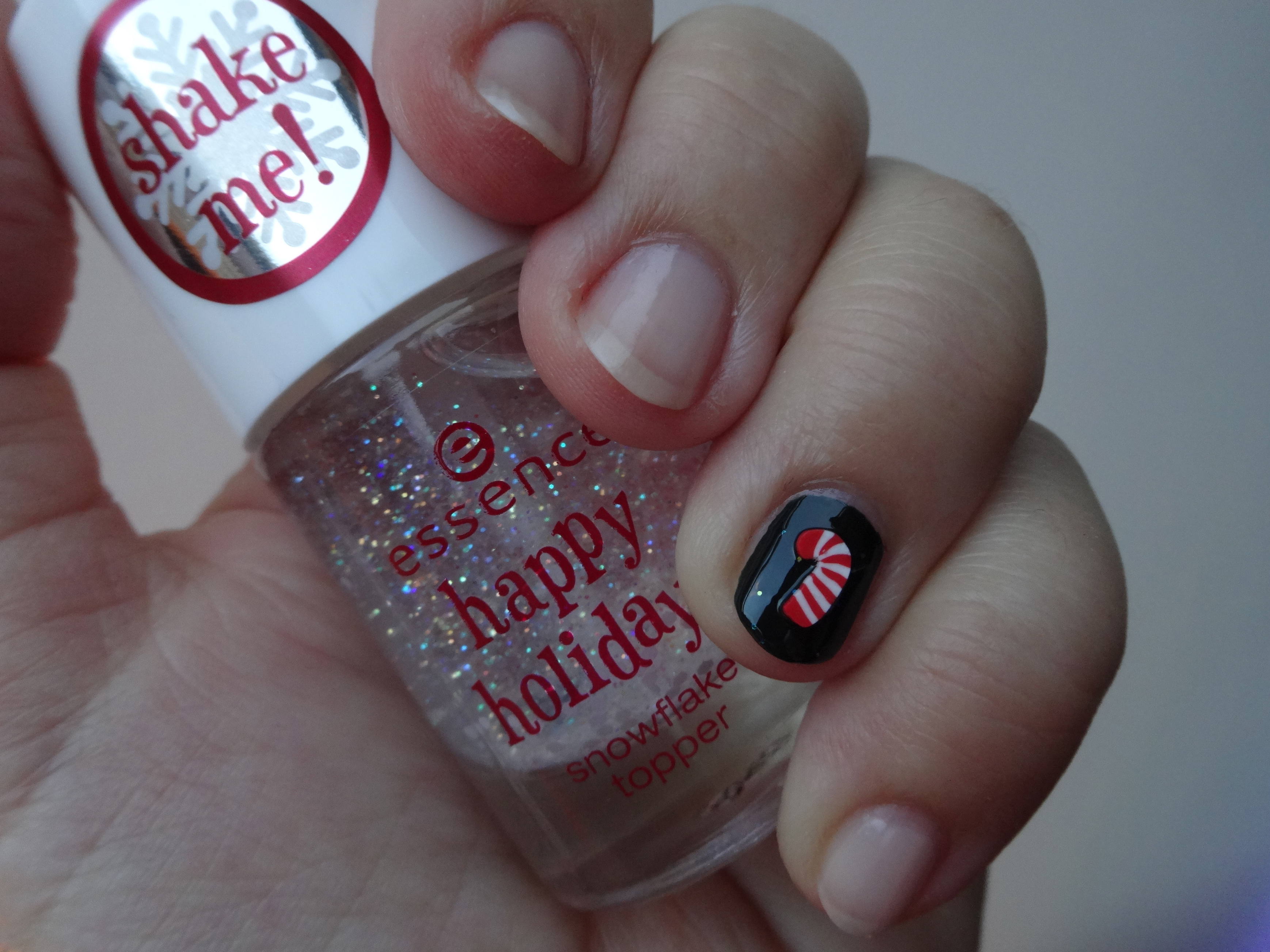 essence 160 deep sea, baby, happy holidays sugar cane / Zuckerstange & snow flake topper