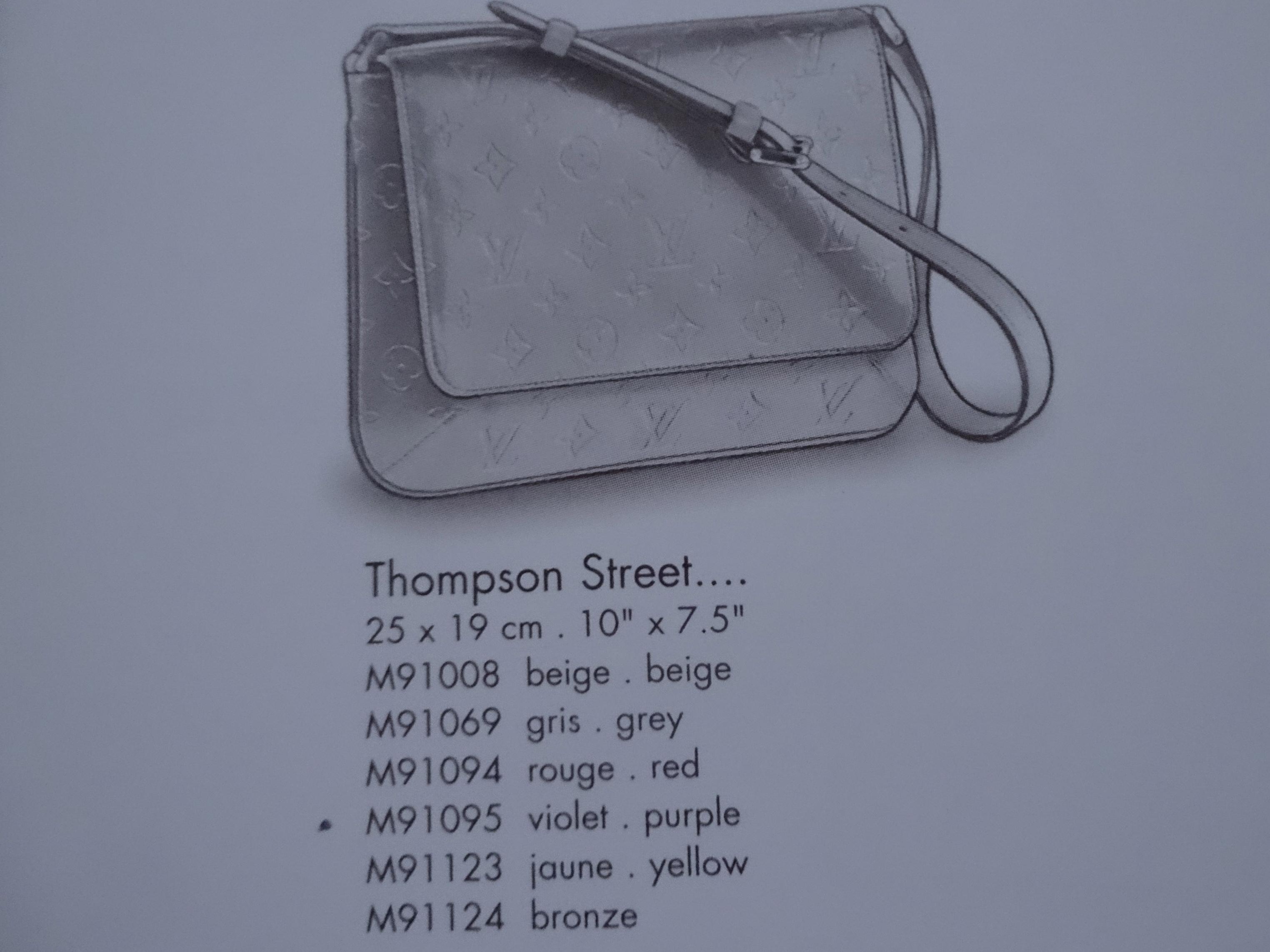 Thompson Street (c) Louis Vuitton Le Catalogue 2001