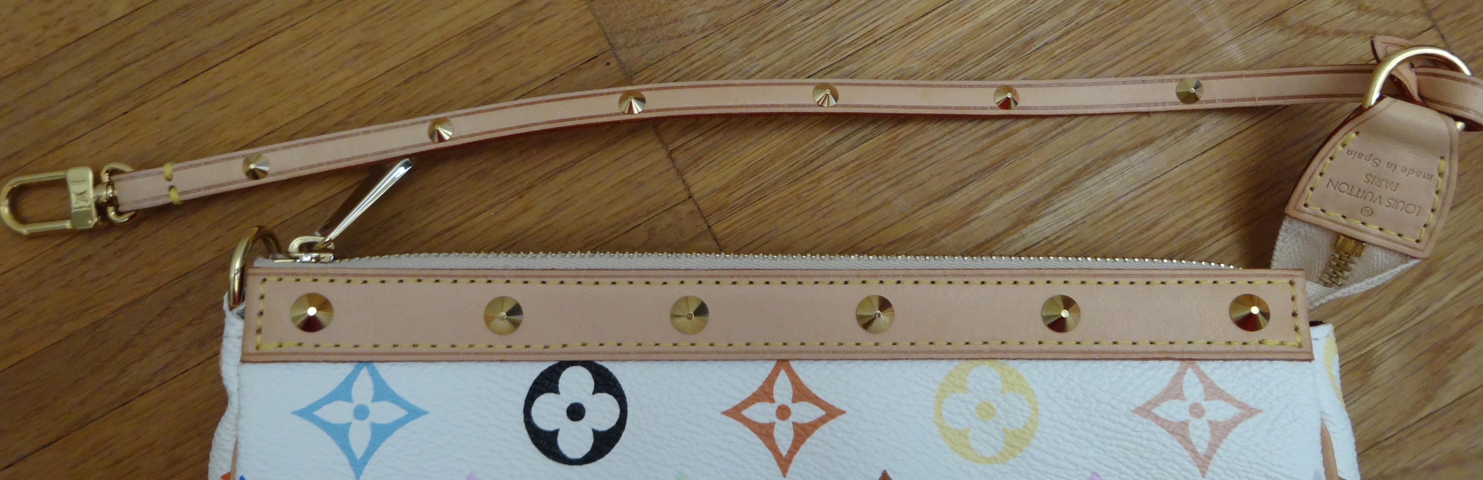 border of LV Multicolore Pochette Accessoires