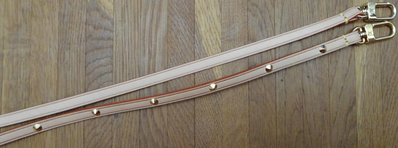 straps of Monogram and Multicolore PA's. / Schulterriemen von PA Monogram und Multicolore