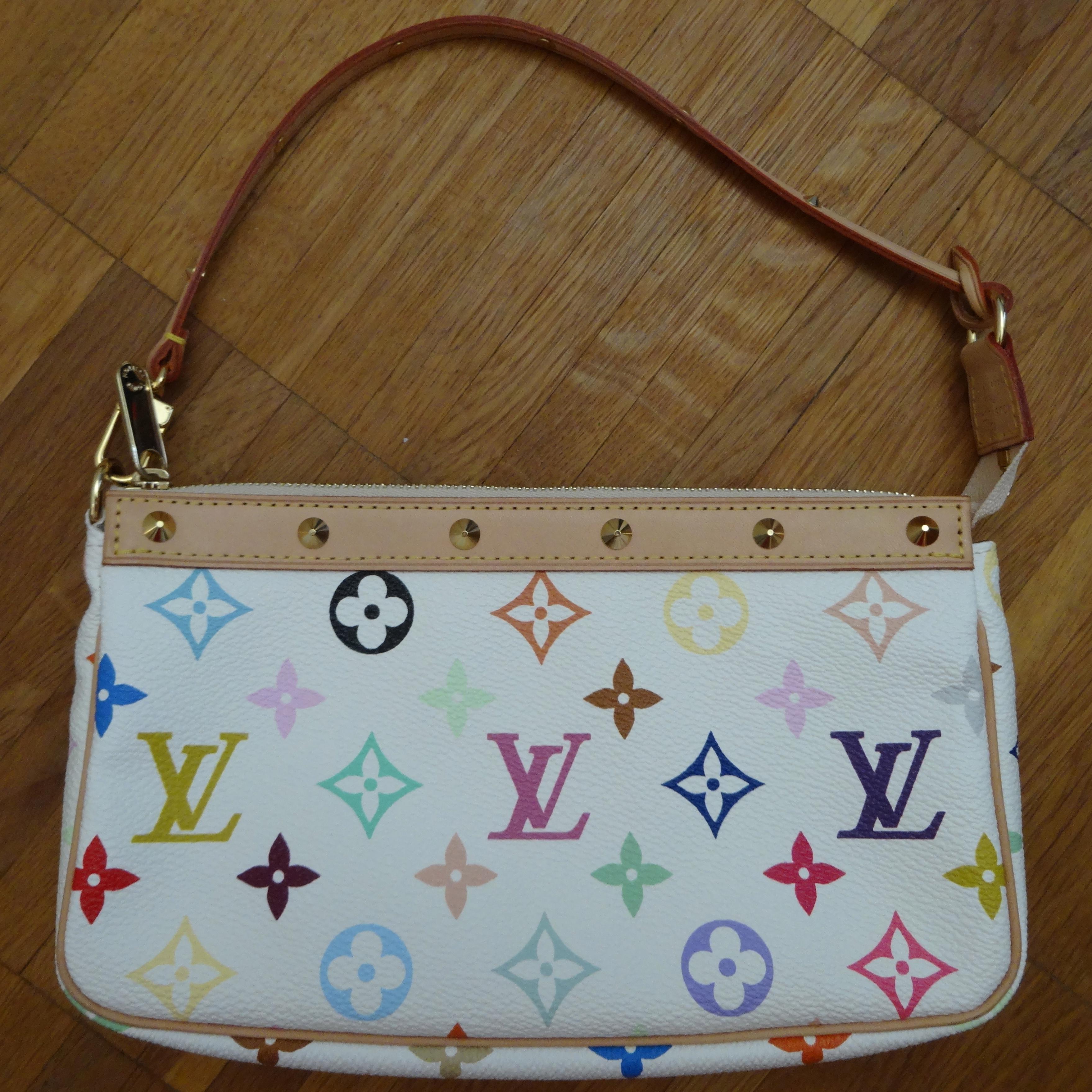 Louis Vuitton Multicolore Pochette Accessoires white / weiss