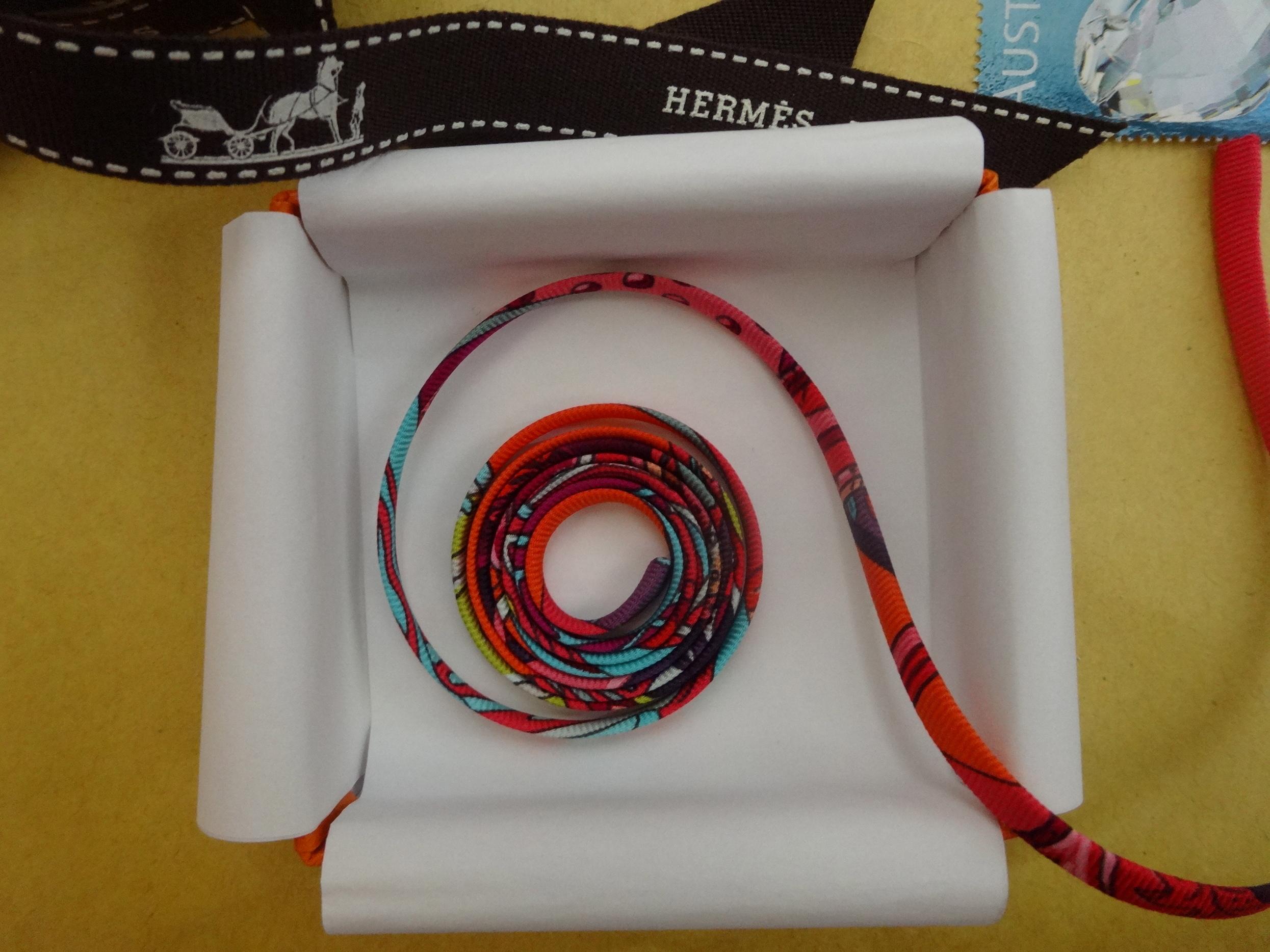 Silk Spaghetti - Hermès - Seidenspaghetti