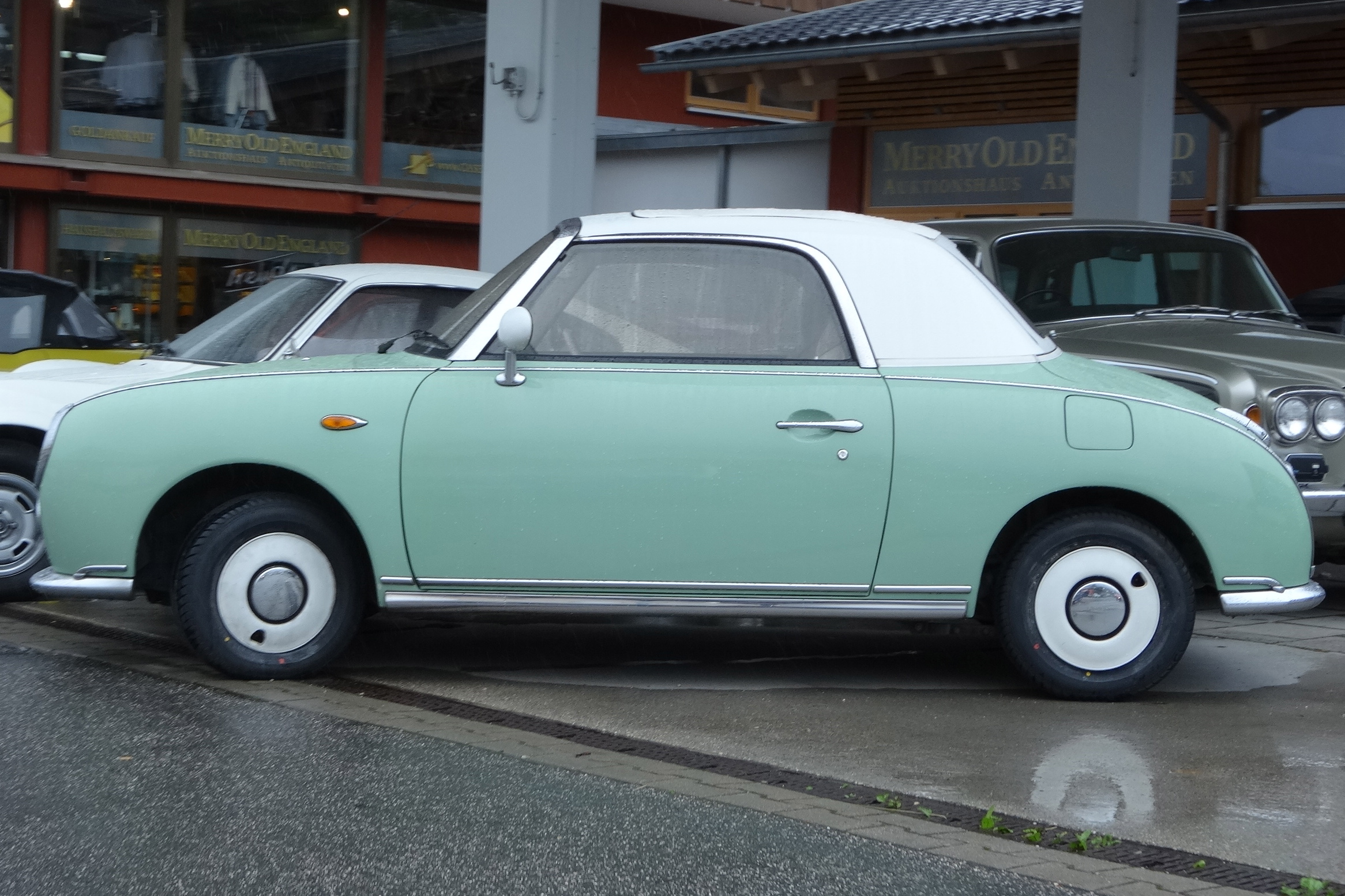 Is it old or is it new - Nissan Figaro - Happyface313