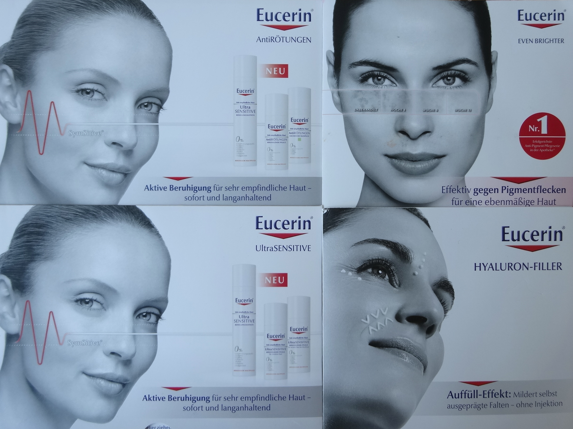Neue Eucerin Serien / new Eucerin lines