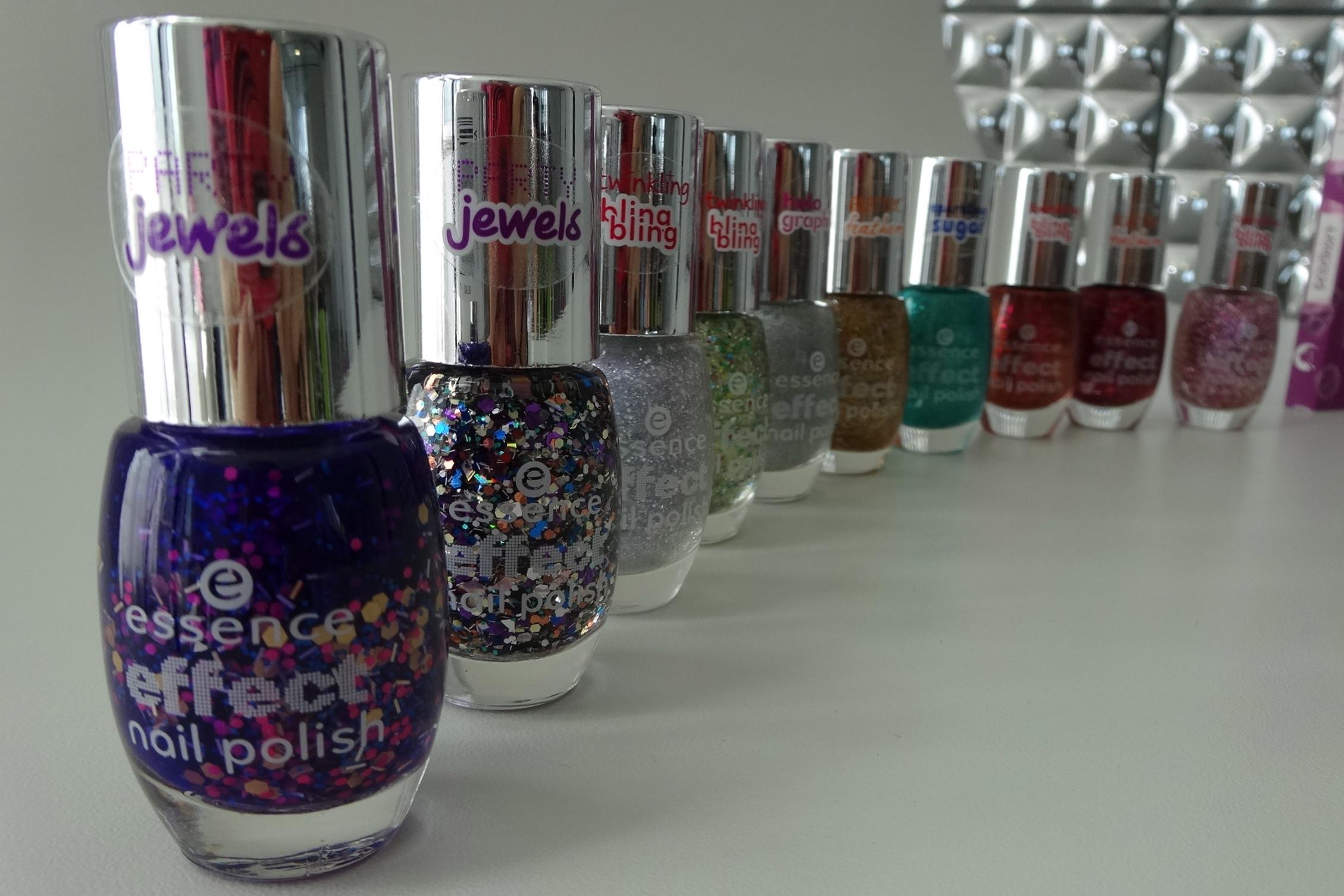 neue essence effect nail polishes