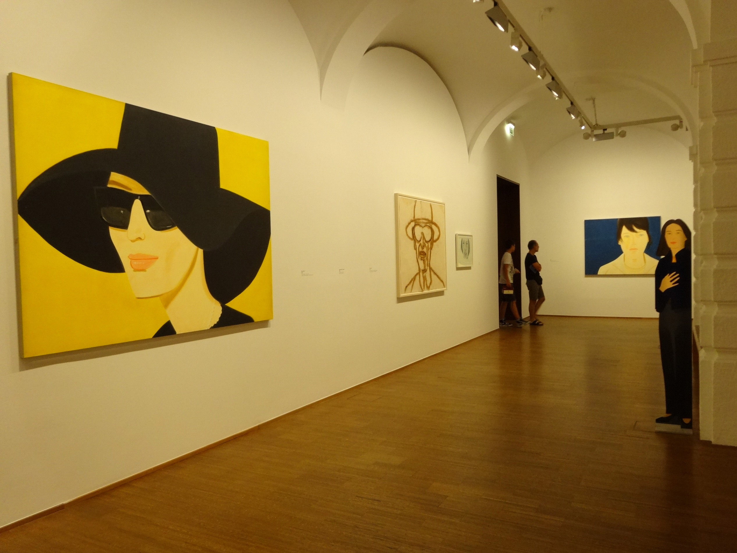 Alex Katz exhibition at Albertina museum
