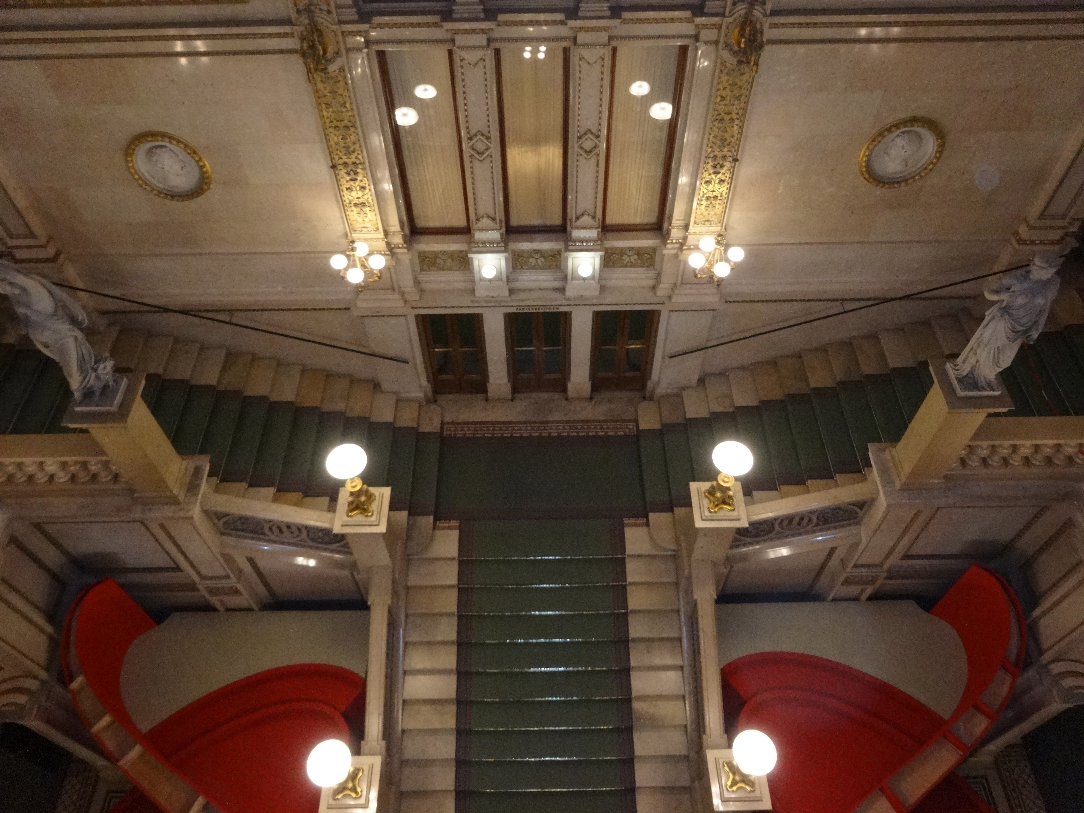 Vienna State Opera central staircase