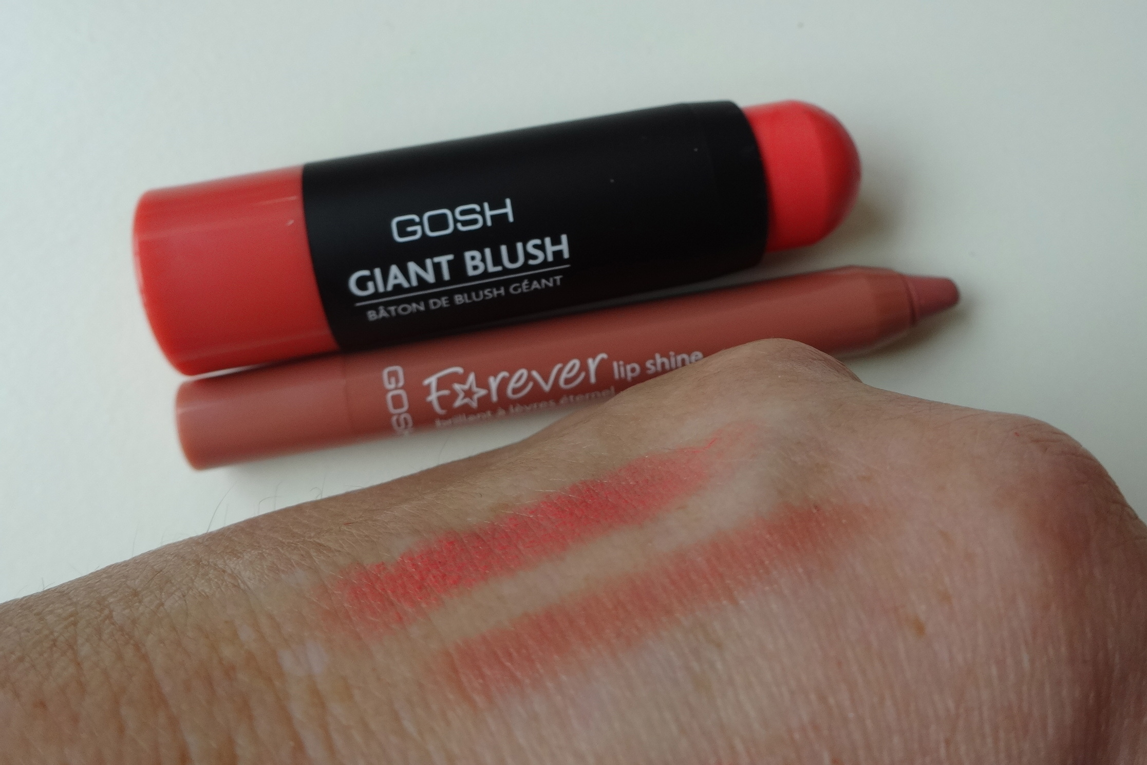 Gosh Giant Blush & Forever Lip Shine
