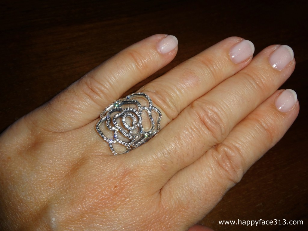 my favorite piece! - Pandora Shimmering Rose Ring - mein Lieblingsstück!