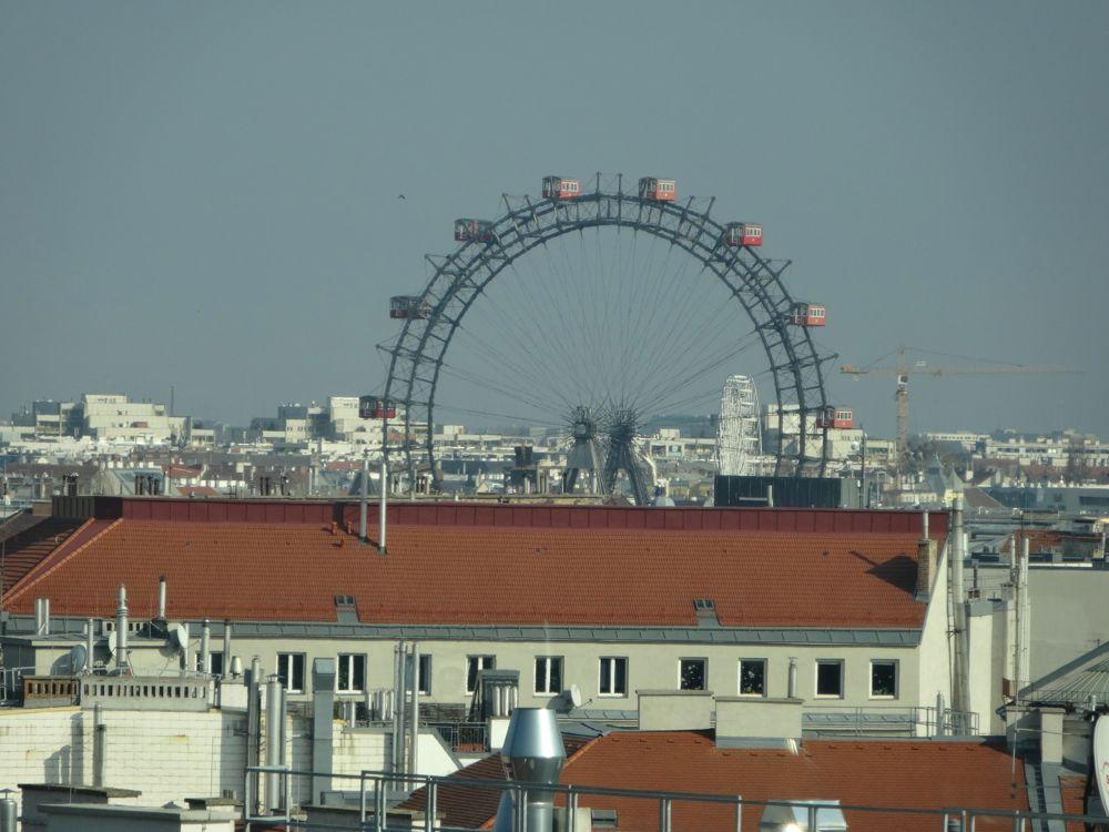 Wien mit Blick auf das Riesenrad