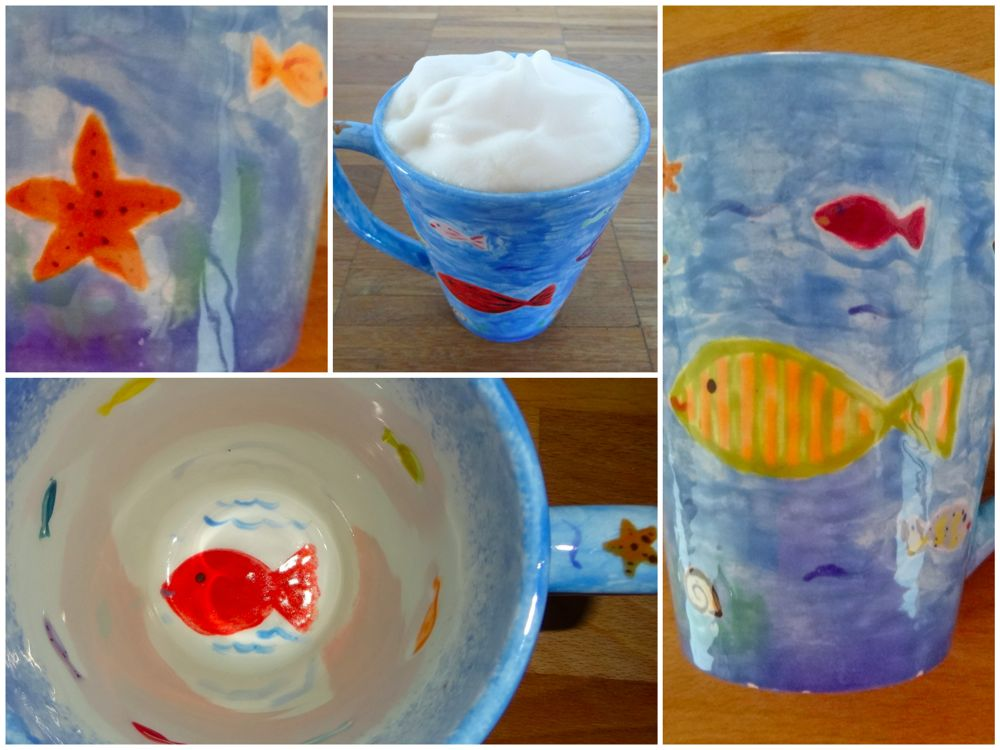 HappyFace313 WPC Symbol Coffee Cup Fish Water Coll