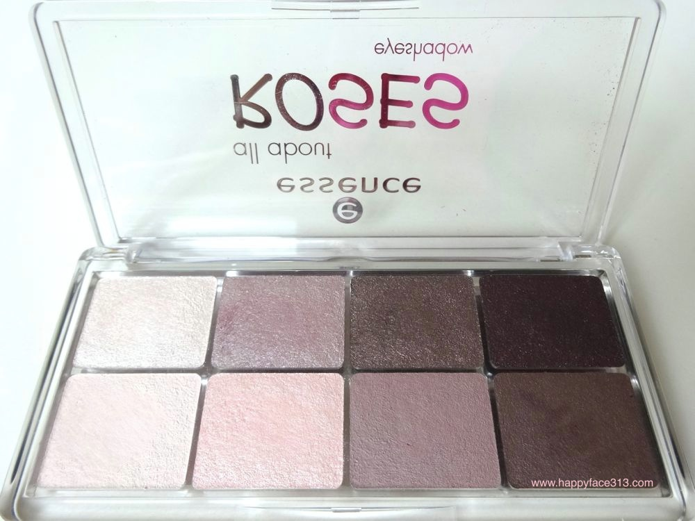 essence eyeshadow palette ROSES