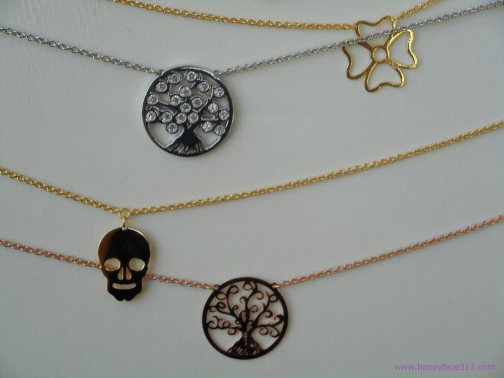 La Viida Albero und Simboli Halsketten