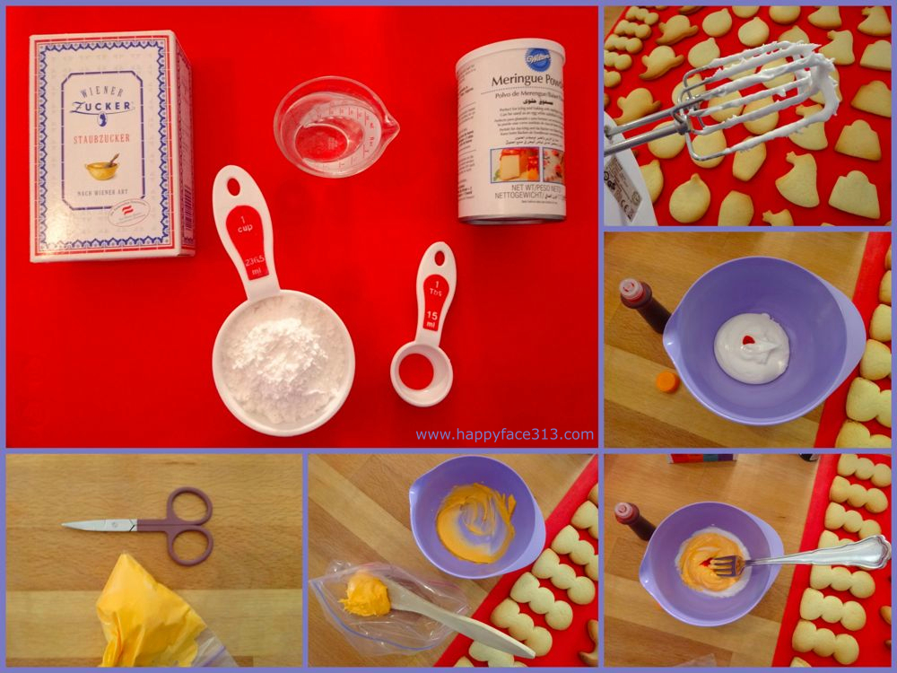 Making Royal Icing