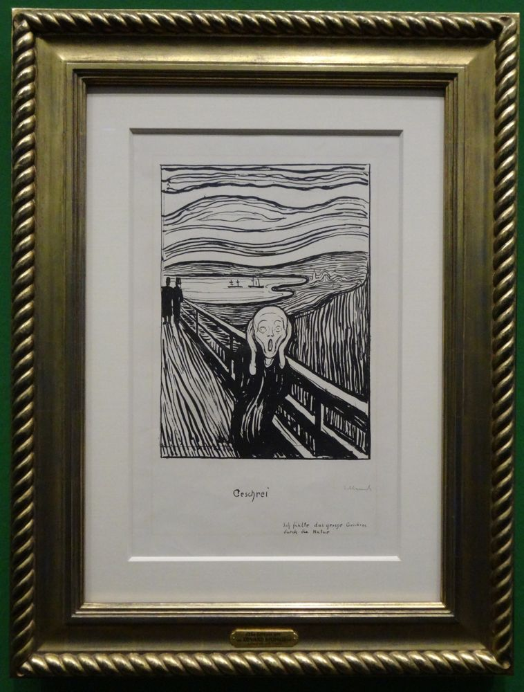 HappyFace313 Albertina Edvard Munch Scream Geschrei