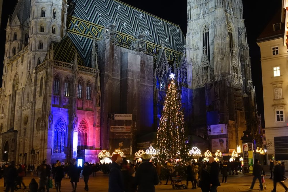 Holiday atmosphere in Vienna / Feiertagsstimmung in Wien