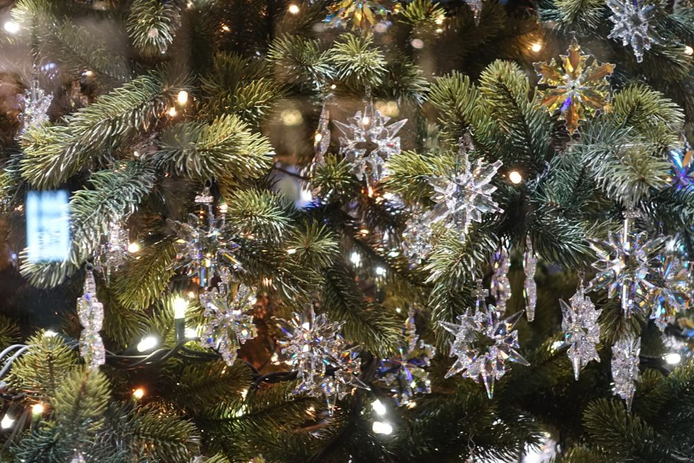 Christmas decorations - Swarovski - Weihnachtsanhänger