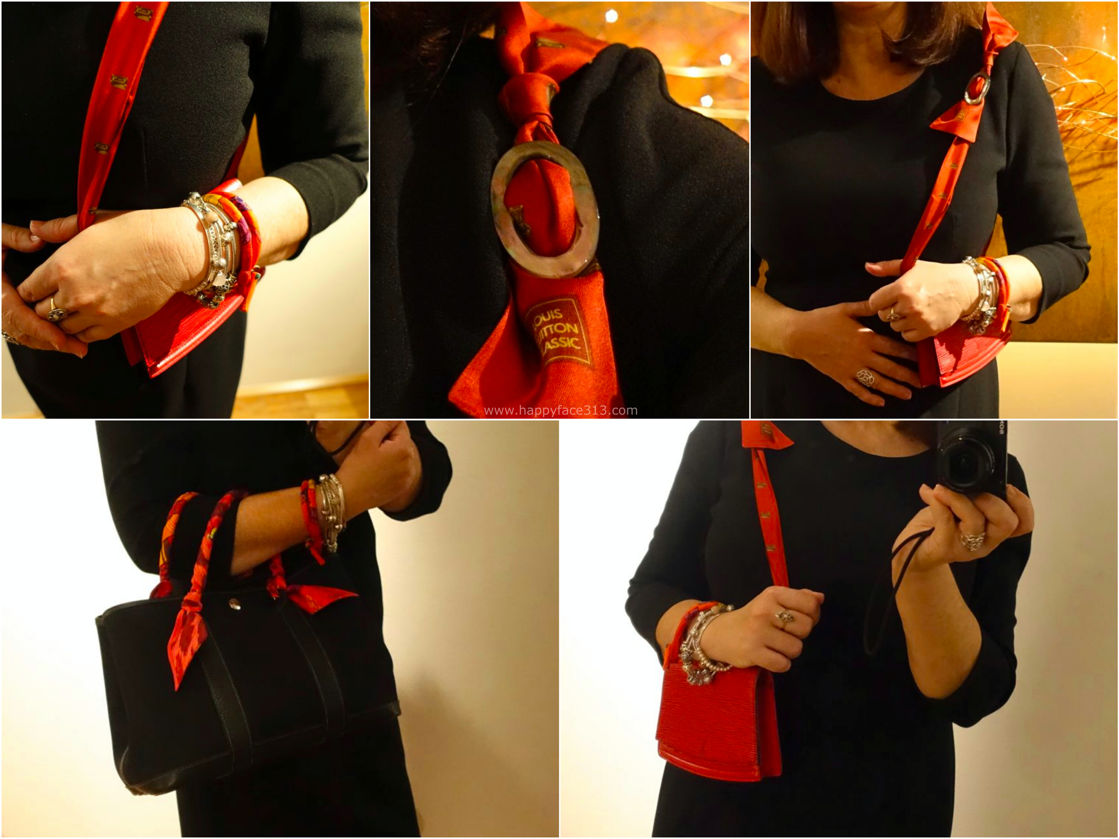 rote Accessoires / red accessories