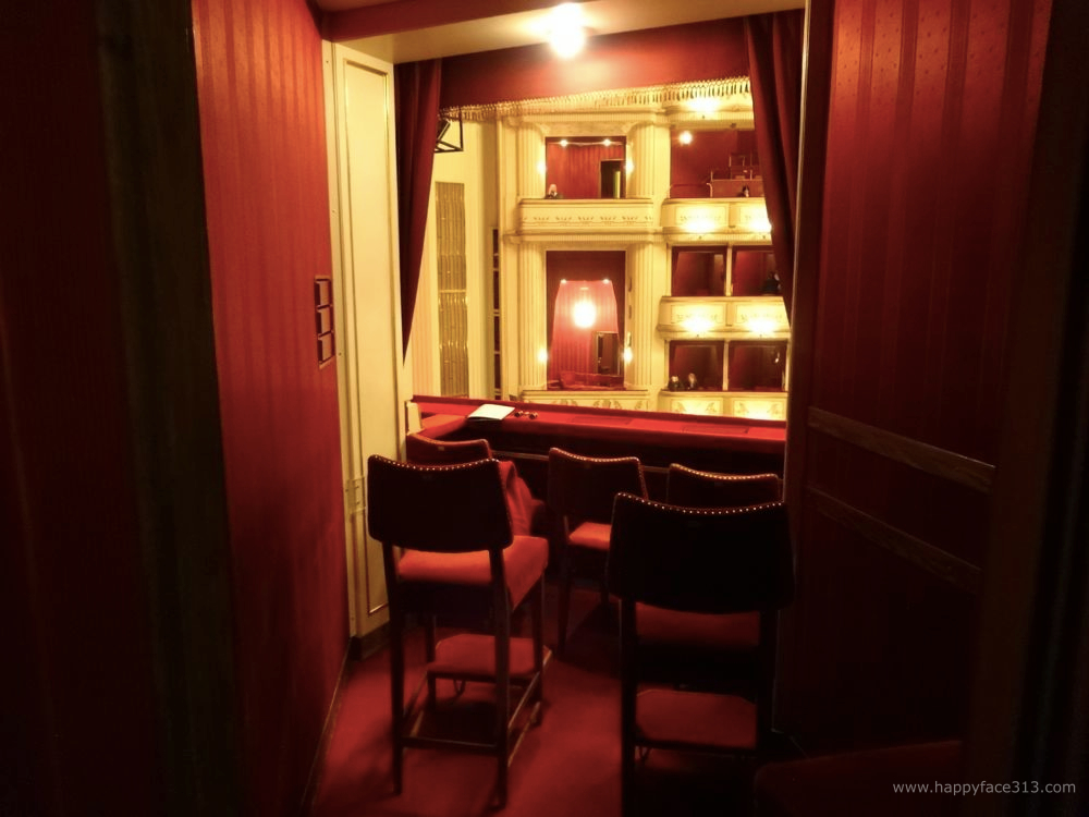 rote Loge in der Staatsoper Wien / red box at the Vienna State Opera