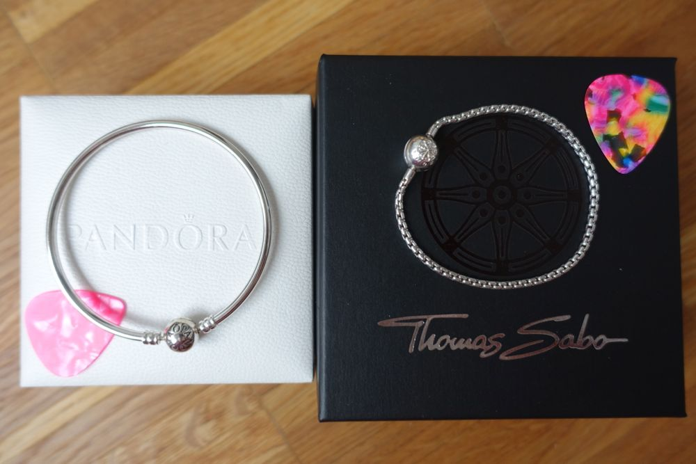 Pandora Bangle, Thomas Sabo Karma Bead Bracelet
