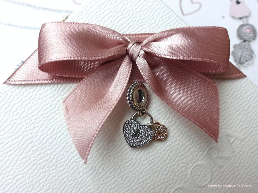 Pandora - Love Locks / Liebesschloss - charm