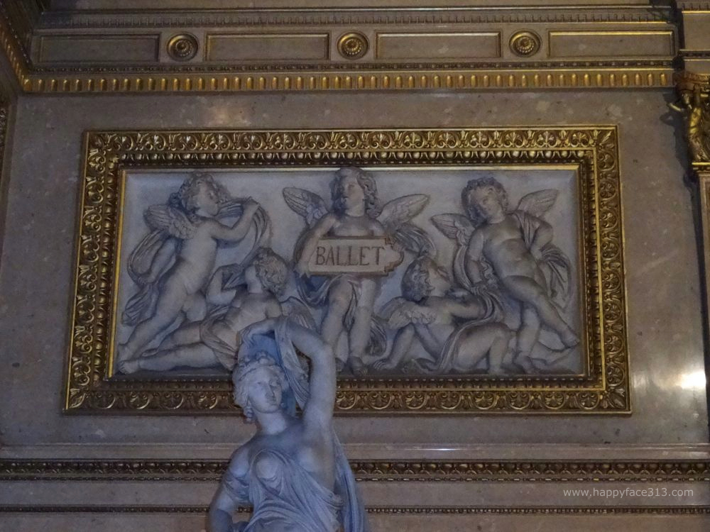 Ballet relief - entrance hall of the Vienna State Opera