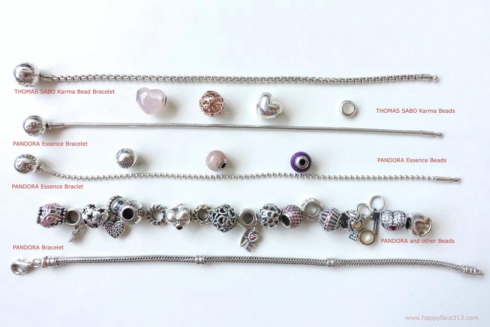 PANDORA & THOMAS SABO Armbänder / bracelets