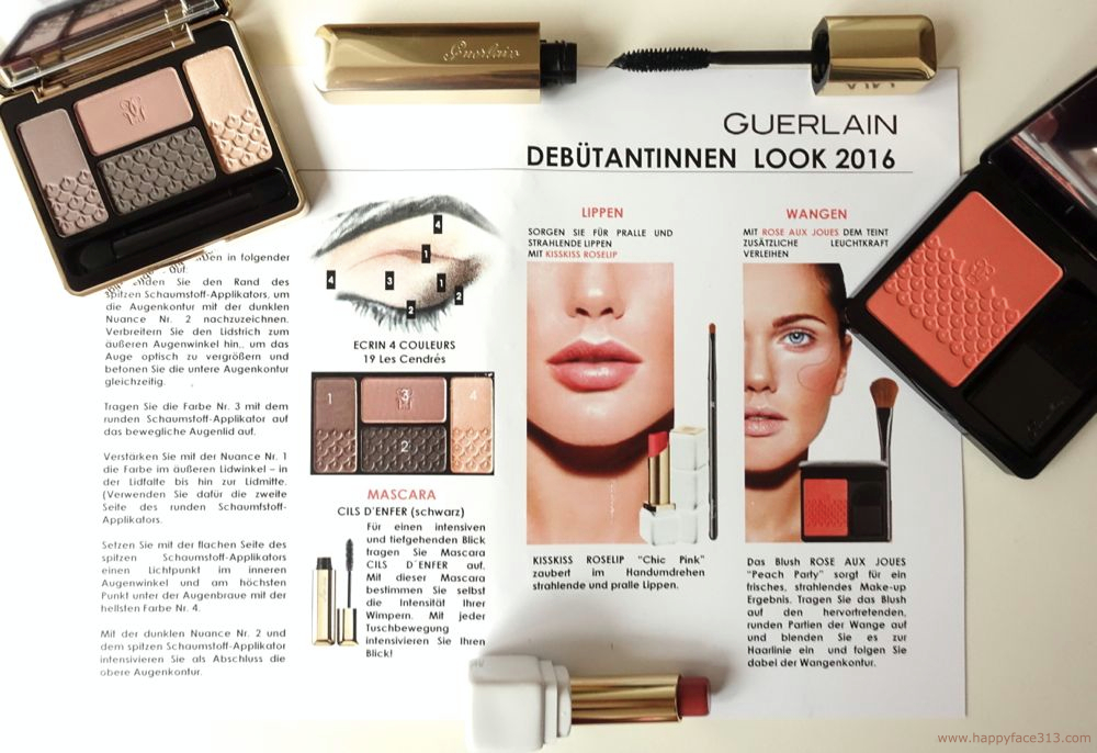 how to apply the GUERLAIN cosmetics for the debutante look 2016